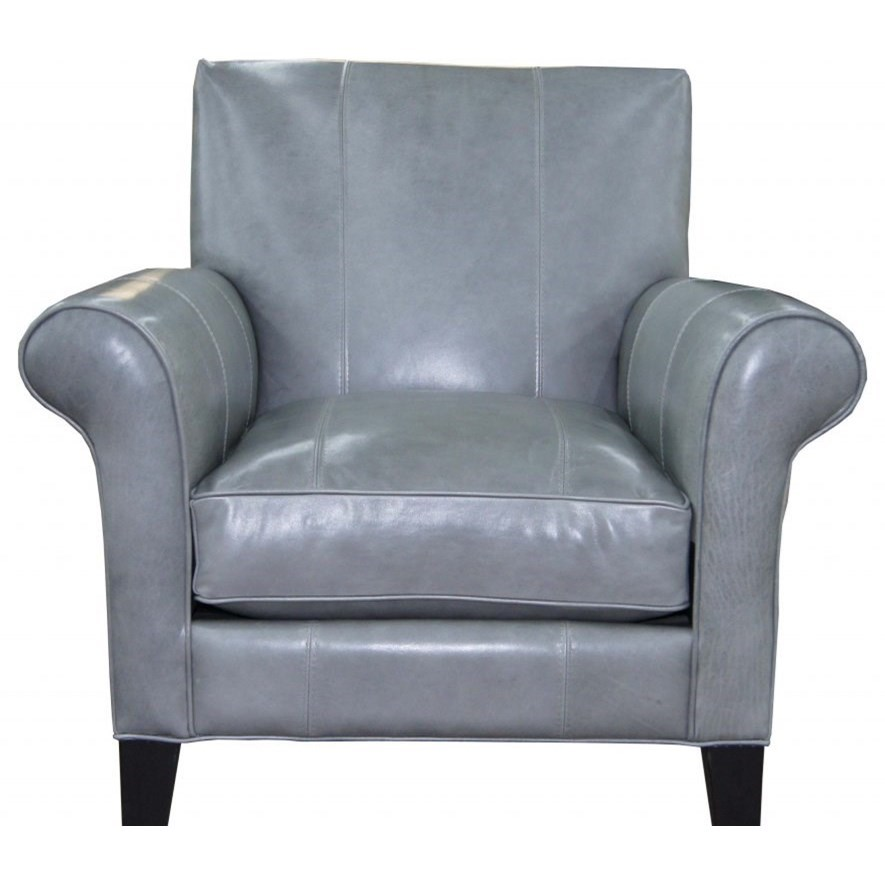 Twister Leather Accent Chair at Williams & Kay