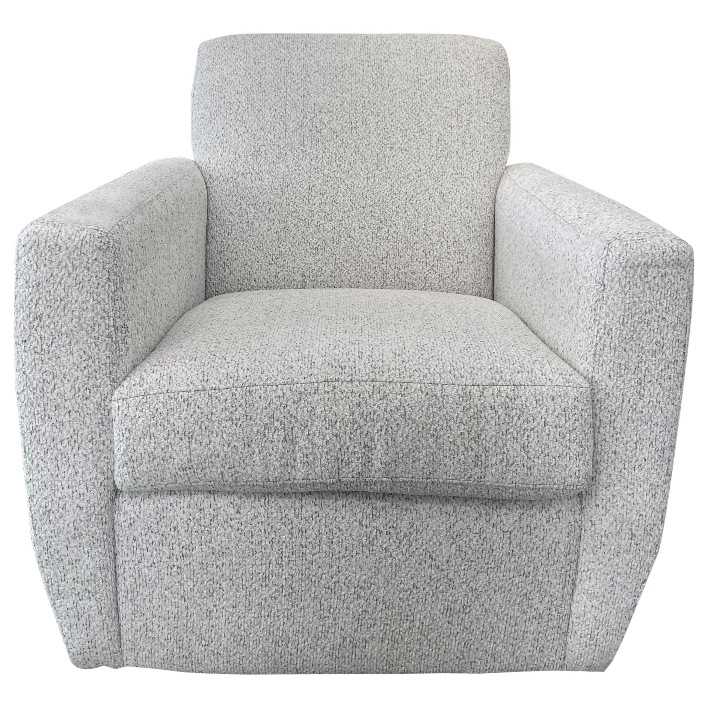 Vancouver Contemporary Swivel Chair by Jonathan Louis at C. S. Wo & Sons Hawaii