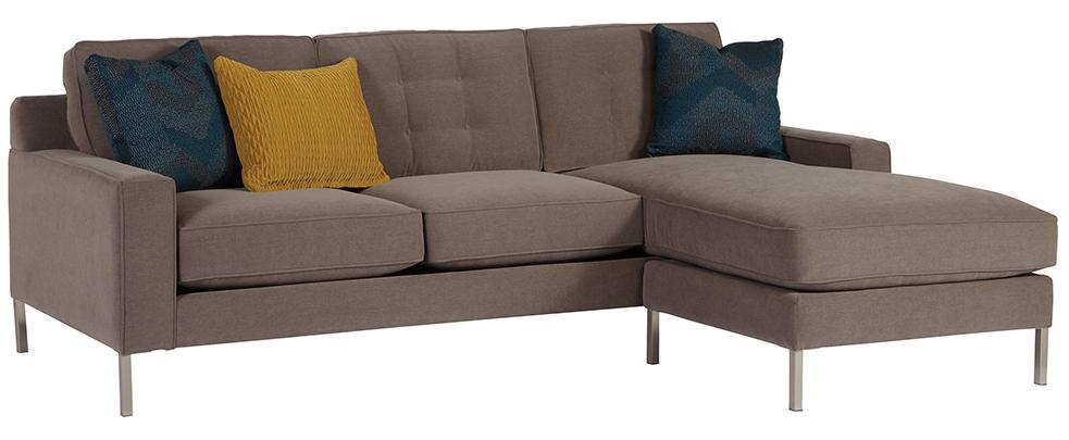 Westminster Rev Chaise Sofa and Ottoman Base by Jonathan Louis at Fashion Furniture