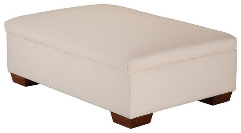 Jean Storage Cocktail Ottoman by Justice Furniture & Bedding at Crowley Furniture & Mattress