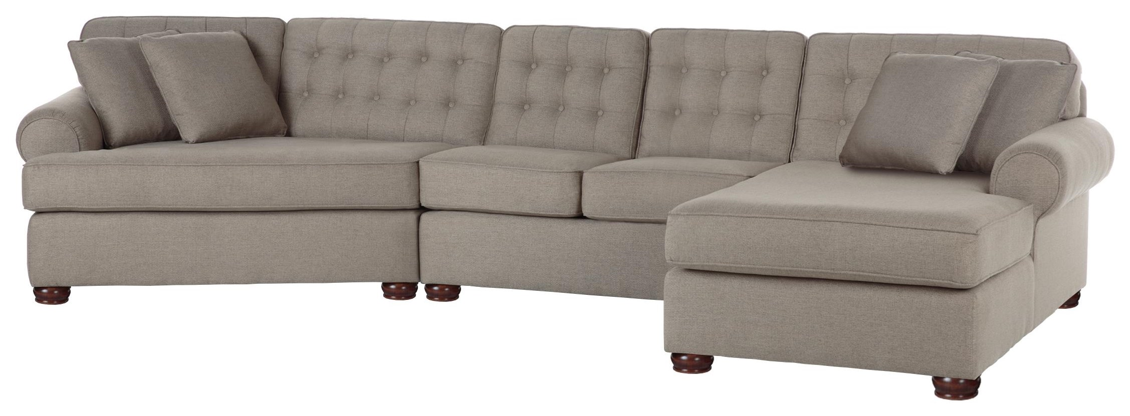 Just Your Style Sectional by Justice Furniture & Bedding at Crowley Furniture & Mattress