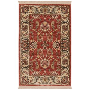 8'8x10' Agra Red Rug
