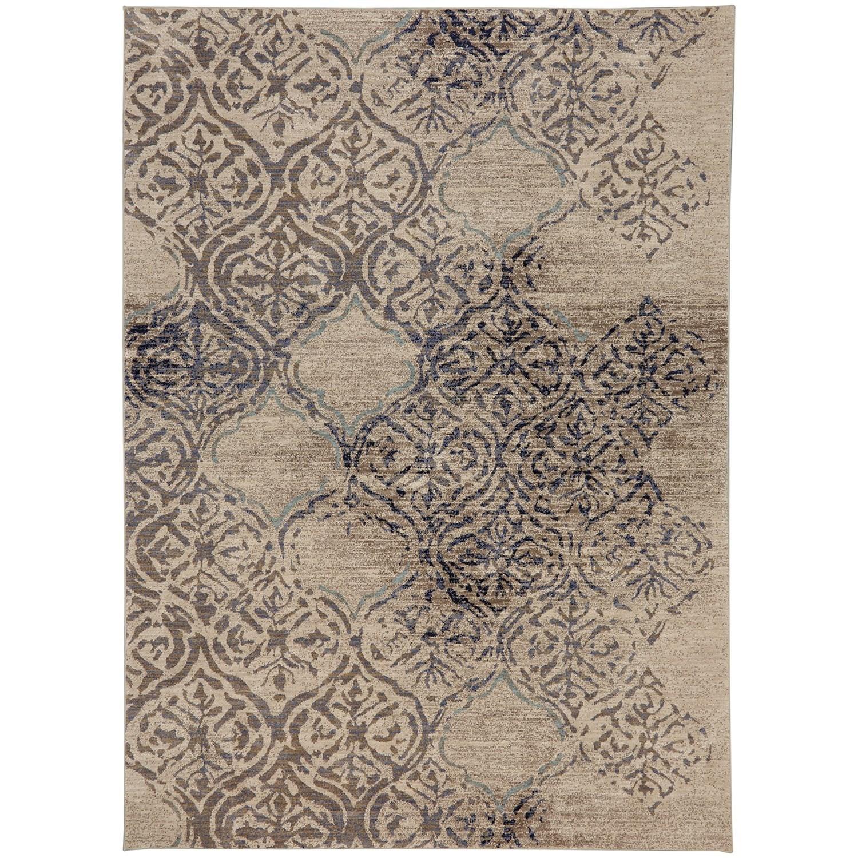 "Cosmopolitan 5' 3""x7' 10"" Rectangle Ornamental Area Rug by Karastan Rugs at Darvin Furniture"
