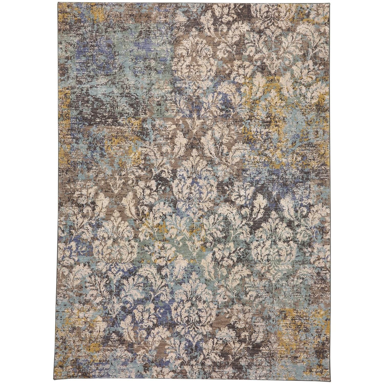 "Cosmopolitan 5' 3""x7' 10"" Rectangle Ornamental Area Rug by Karastan Rugs at Alison Craig Home Furnishings"