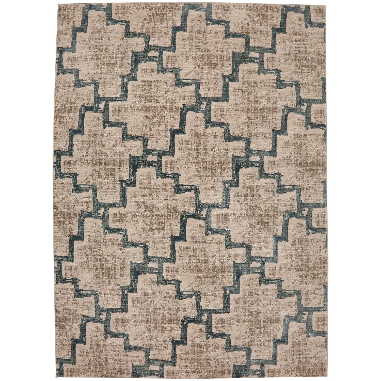 "Cosmopolitan 9' 6""x12' 11"" Rectangle Geometric Area Rug by Karastan Rugs at Alison Craig Home Furnishings"