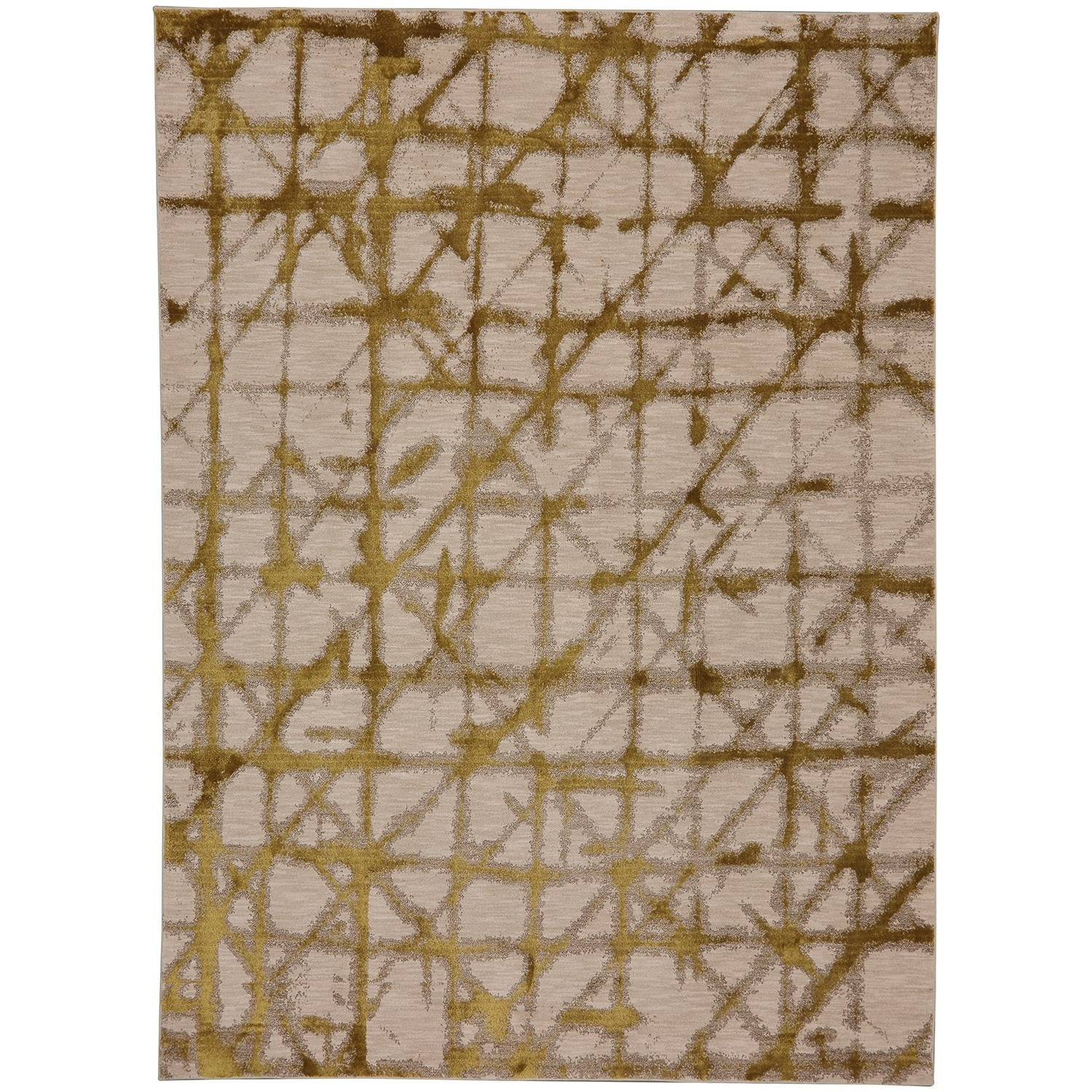 "Enigma 5' 3""x7' 10"" Rectangle Geometric Area Rug by Karastan Rugs at Darvin Furniture"