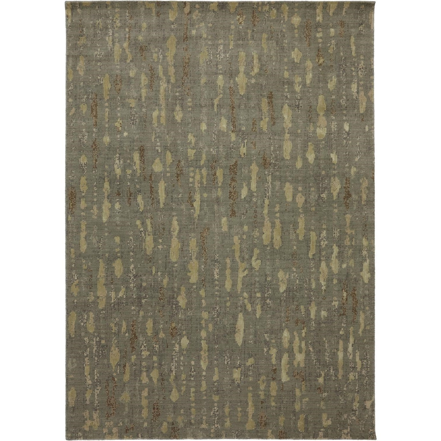 Evanescent 7'9x9'9 Prato Taupe Rug by Karastan Rugs at Alison Craig Home Furnishings
