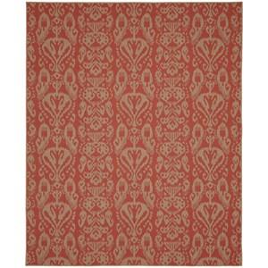 5'x8' Rectangle Ornamental Area Rug