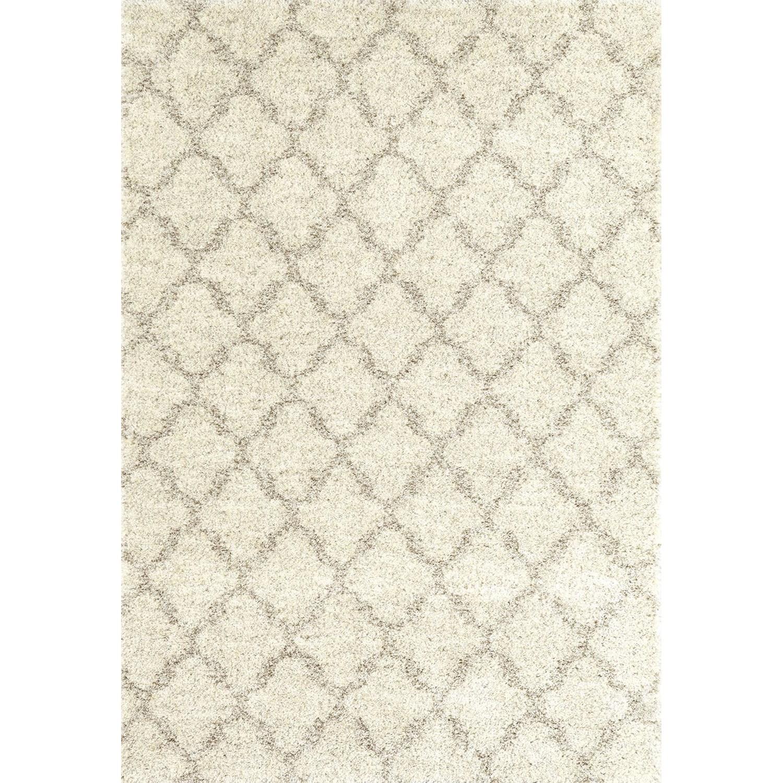 Prima Shag 10'6x13'2 Temara Lattice Brown Rug by Karastan Rugs at Darvin Furniture