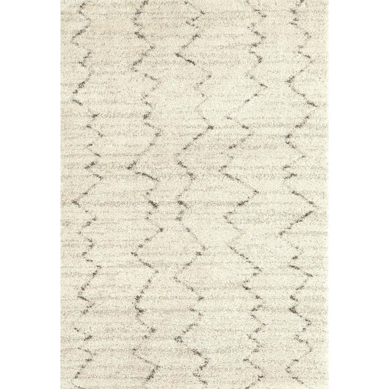 Prima Shag 7'11x10'10 Fassi Ivory Rug by Karastan Rugs at Darvin Furniture