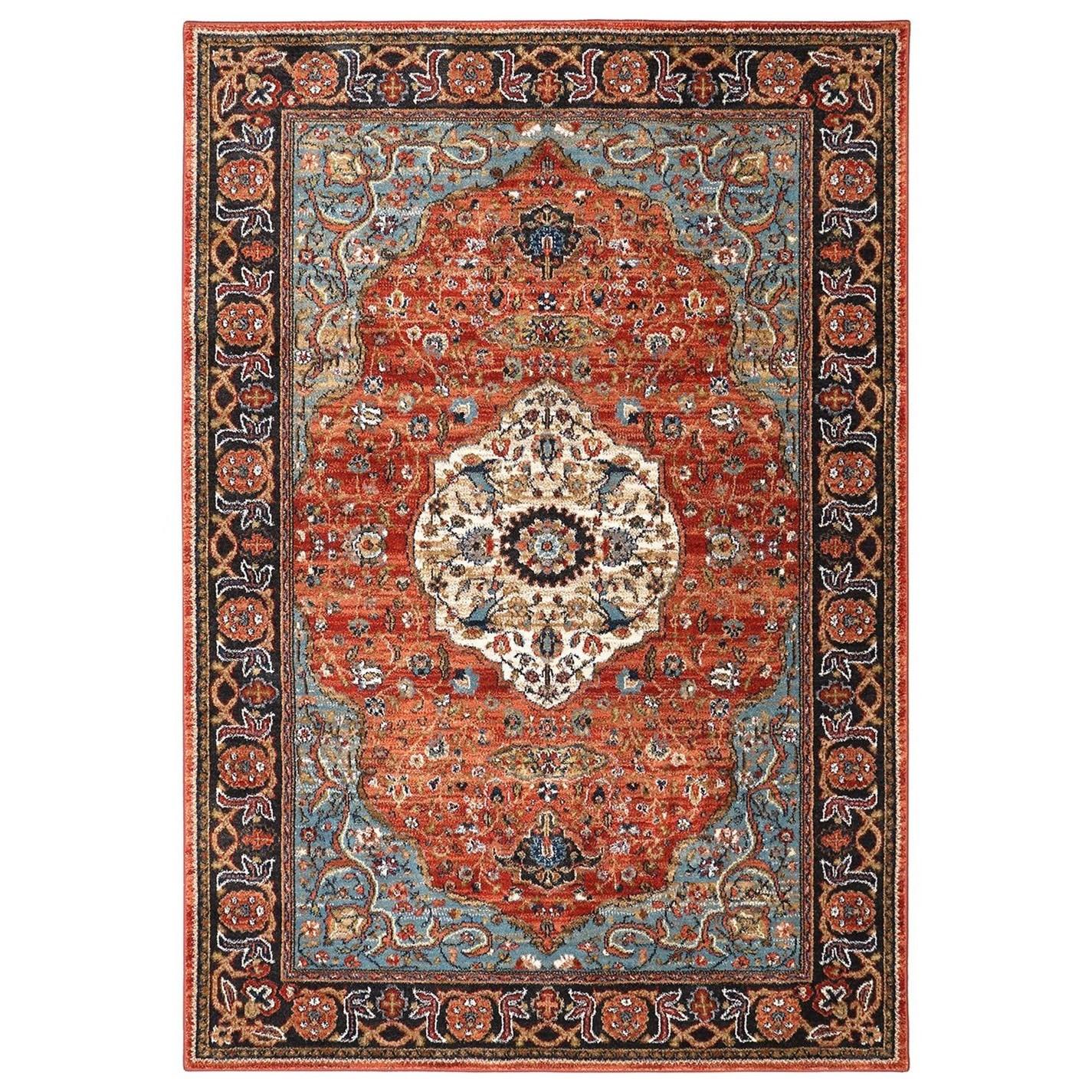 Spice Market 3'5x5'5 Petra Multi Rug by Karastan Rugs at Darvin Furniture