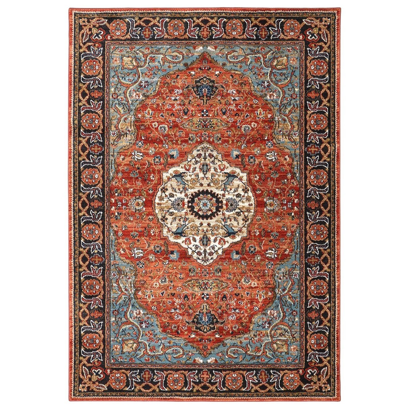 Spice Market 9'6x12'11 Petra Multi Rug by Karastan Rugs at Darvin Furniture