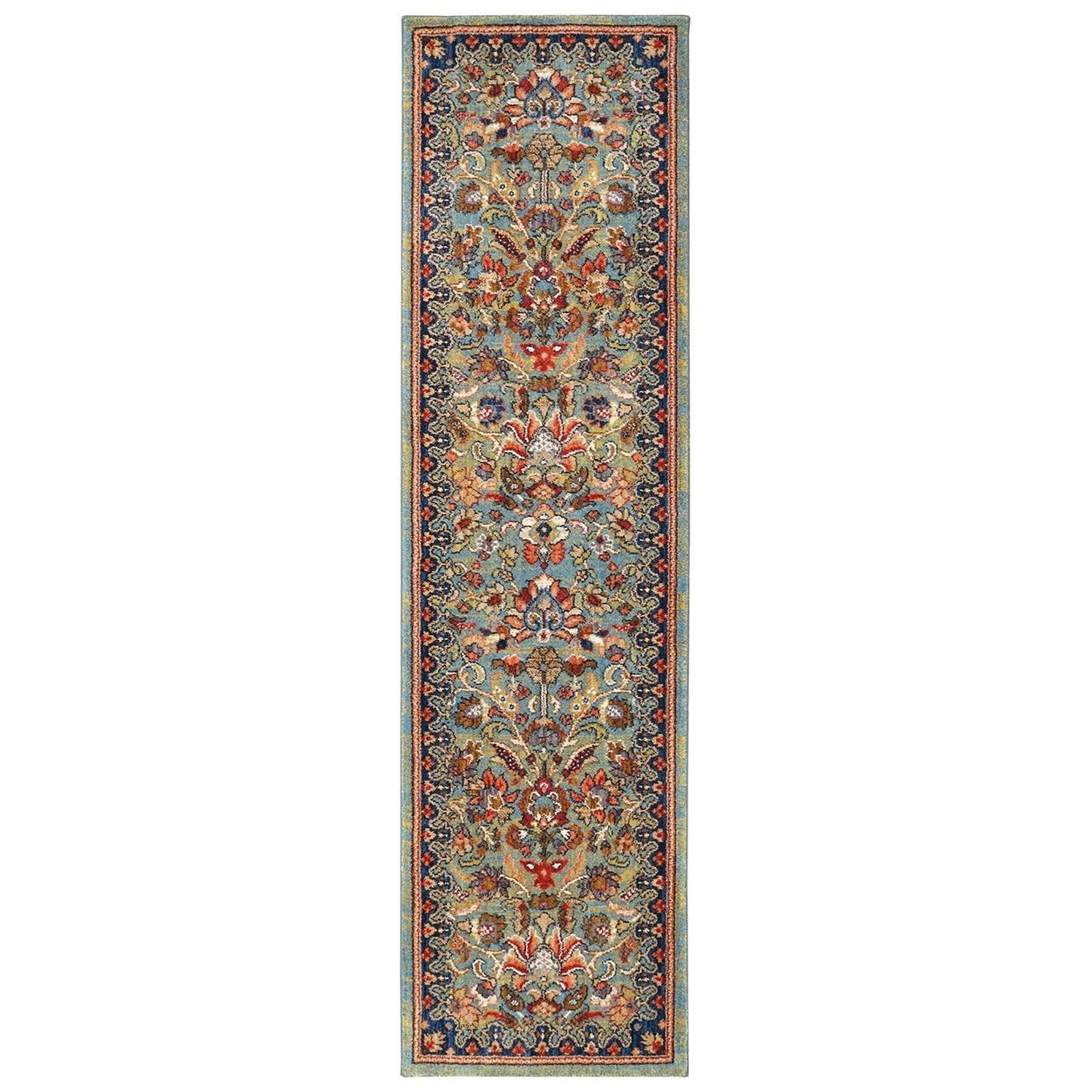 "Spice Market 2' 4""x80' Ornamental Roll Runner by Karastan Rugs at Darvin Furniture"