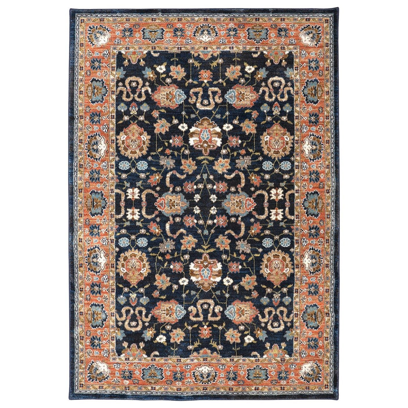Spice Market 3'5x5'5 Zargos Sapphire Rug by Karastan Rugs at Alison Craig Home Furnishings