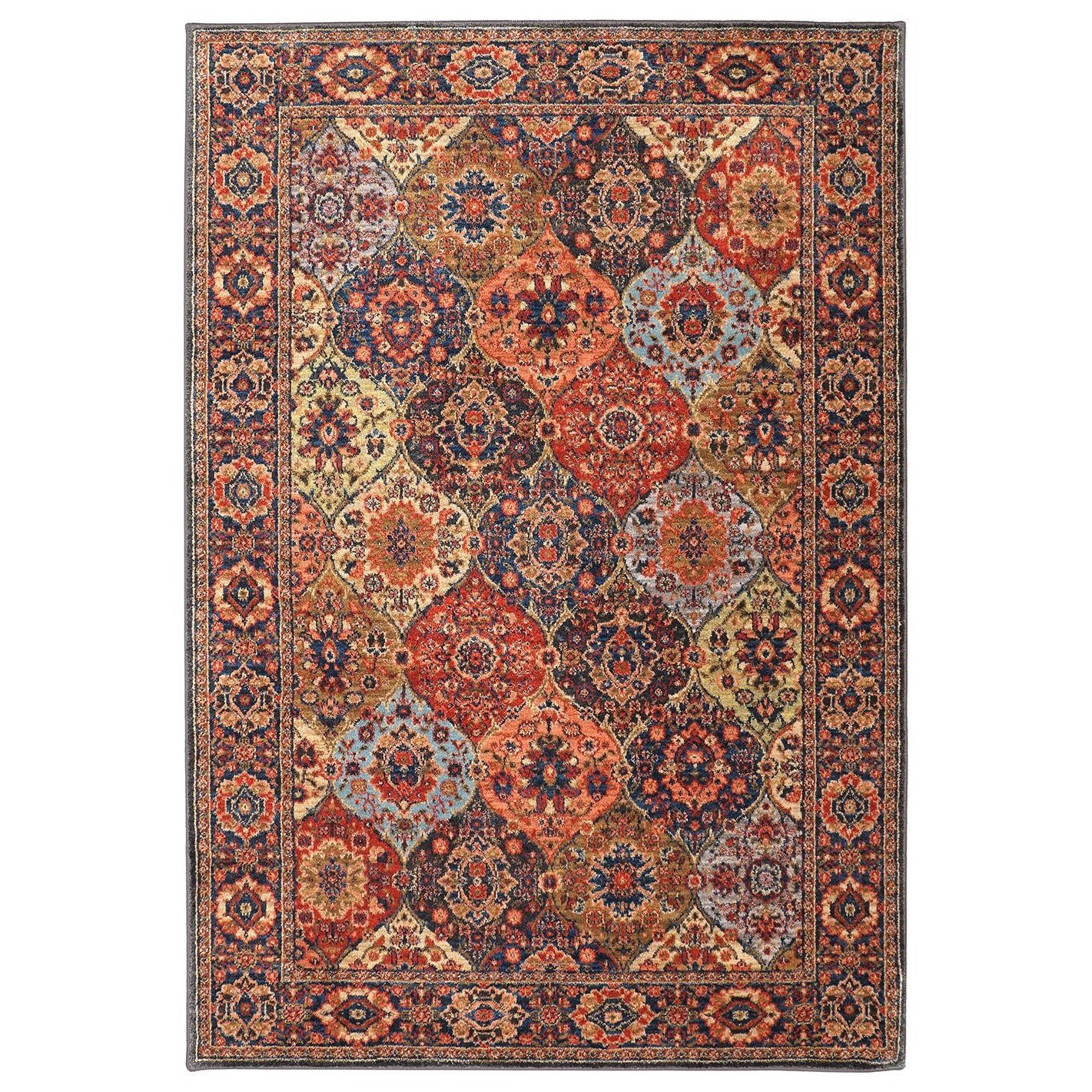 Spice Market 5'3x7'10 Levant Multi Rug by Karastan Rugs at Alison Craig Home Furnishings