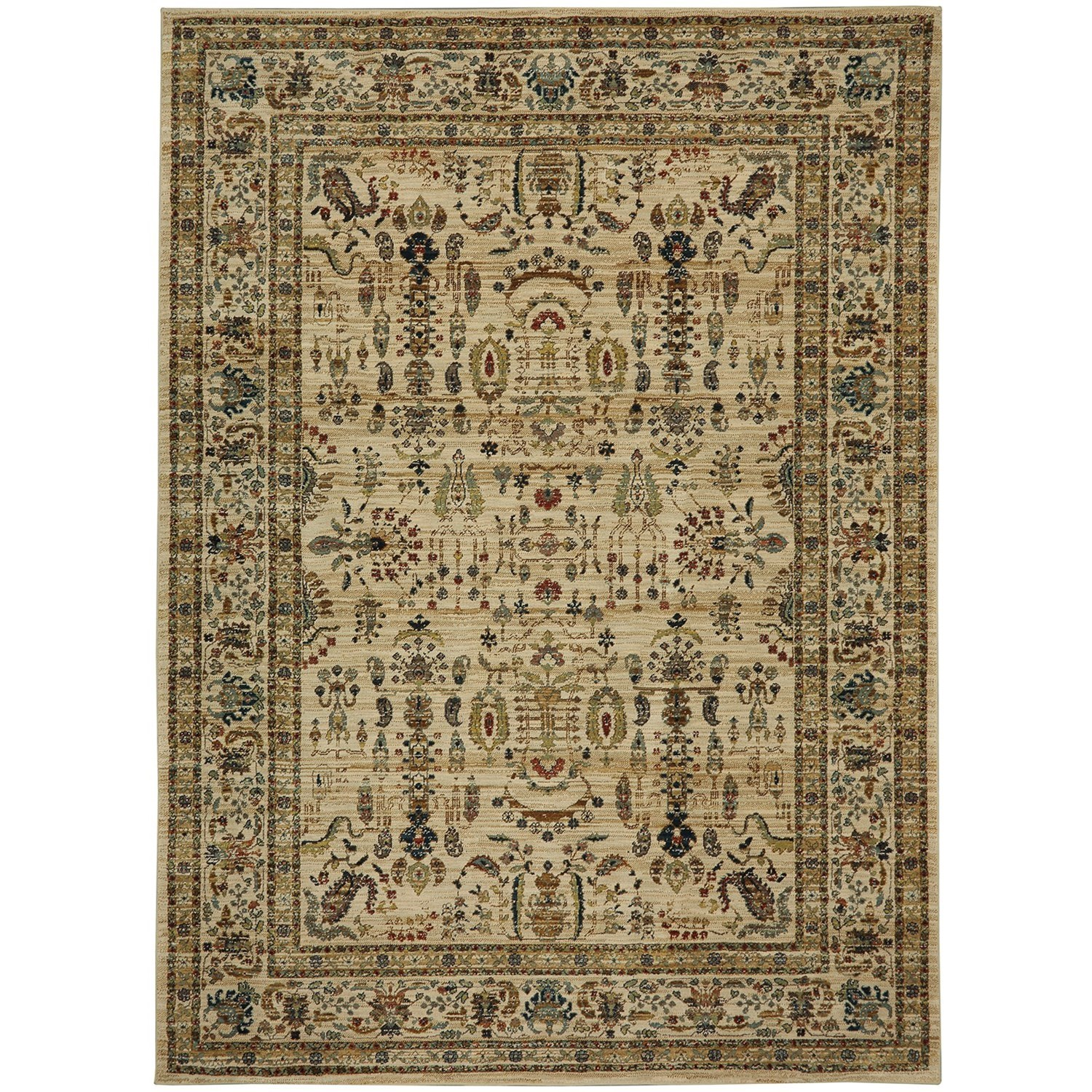 Spice Market 2'x3' Rectangle Ornamental Area Rug by Karastan Rugs at Darvin Furniture