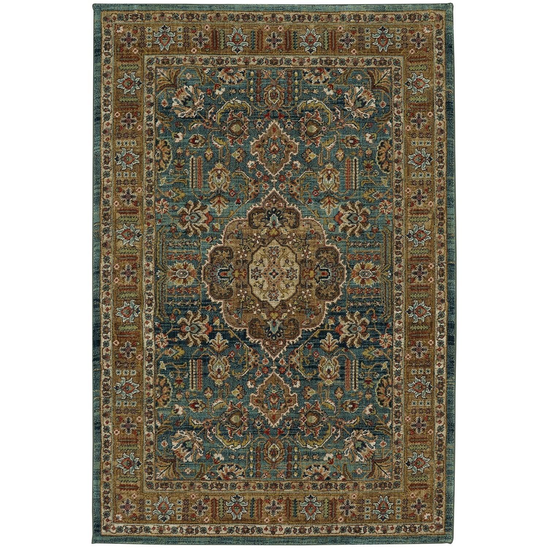 "Spice Market 9' 6""x12' 11"" Rectangle Ornamental Area Rug by Karastan Rugs at Darvin Furniture"