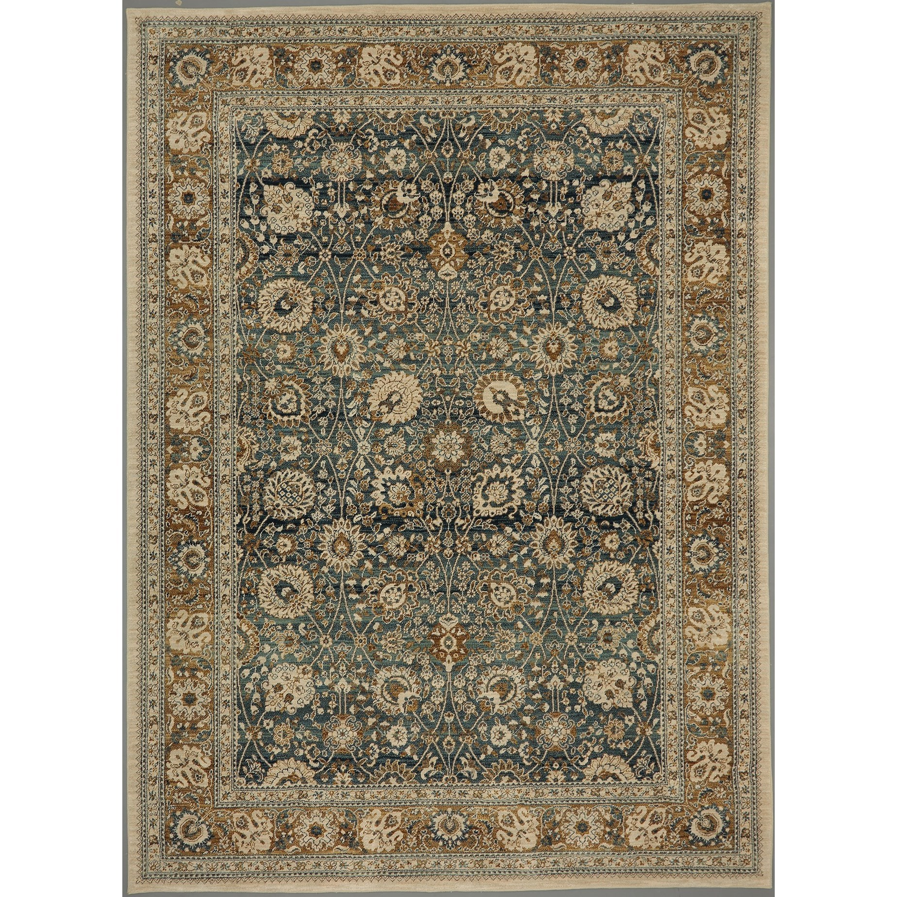 Spice Market 8'x11' Rectangle Ornamental Area Rug by Karastan Rugs at Darvin Furniture
