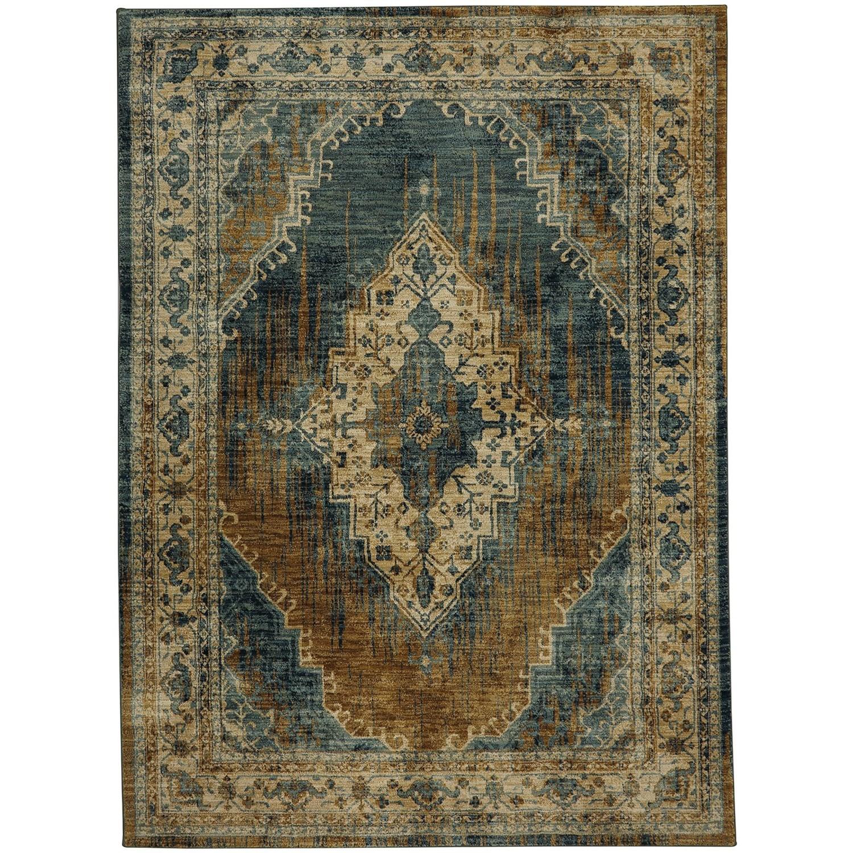 "Spice Market 2' 1""x7' 10"" Ornamental Runner by Karastan Rugs at Darvin Furniture"
