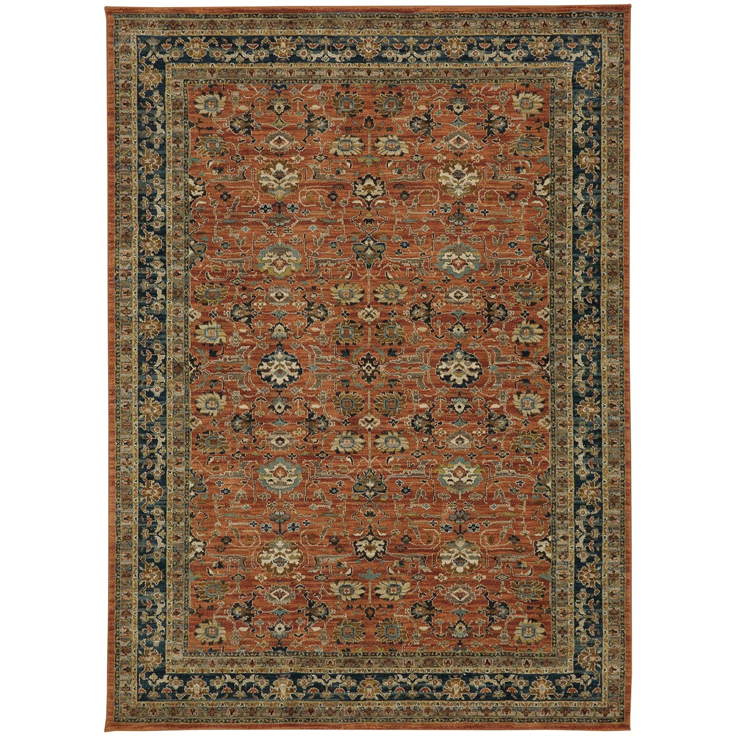 "Spice Market 5' 3""x7' 10"" Rectangle Ornamental Area Rug by Karastan Rugs at Darvin Furniture"
