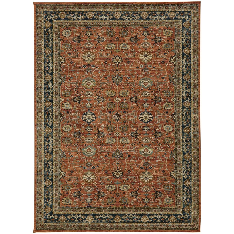 "Spice Market 9' 6""x12' 11"" Rectangle Ornamental Area Rug by Karastan Rugs at Alison Craig Home Furnishings"
