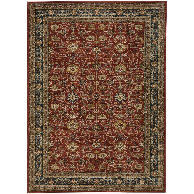 "Spice Market 5' 3""x7' 10"" Rectangle Ornamental Area Rug by Karastan Rugs at Darvin Furniture"