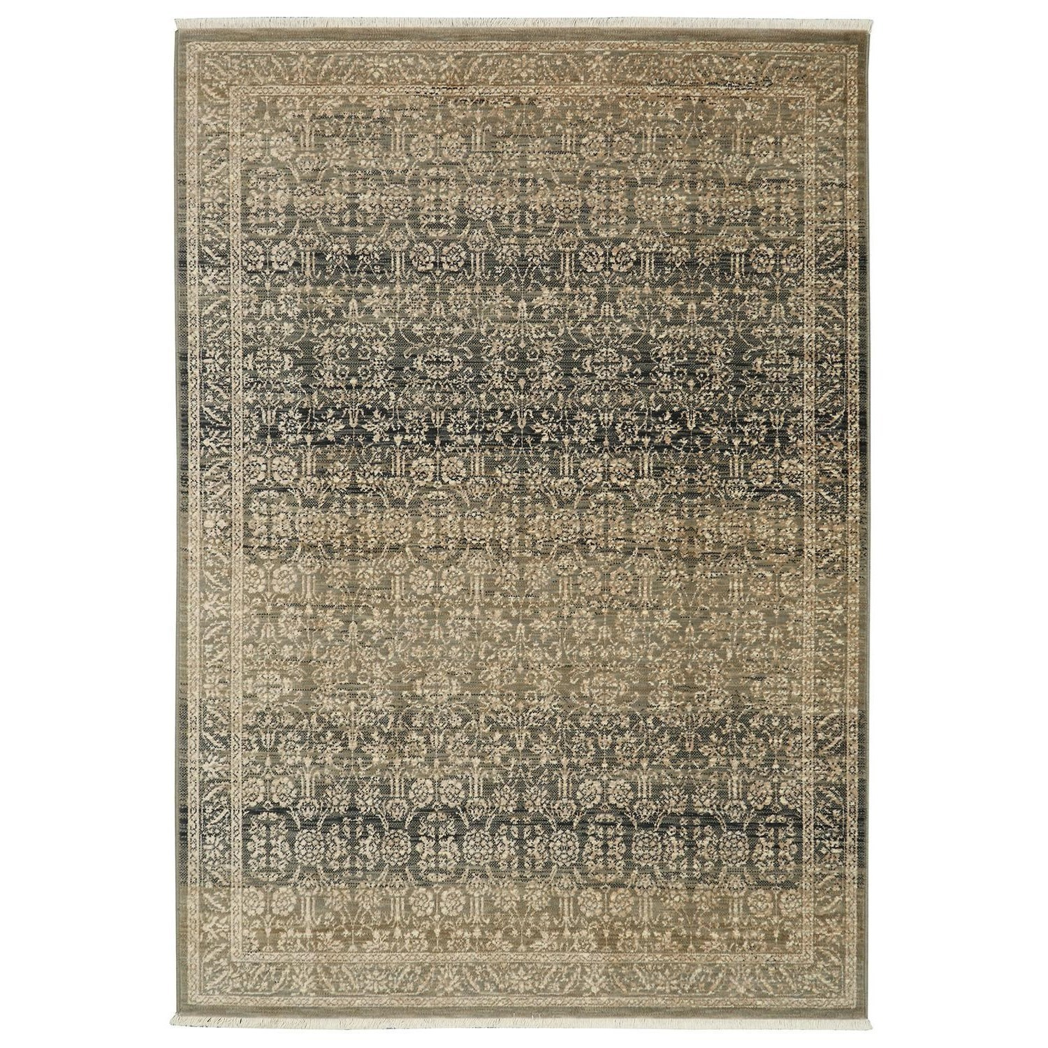 Titanium 9'4x12'9 Verta Gray Rug by Karastan Rugs at Alison Craig Home Furnishings