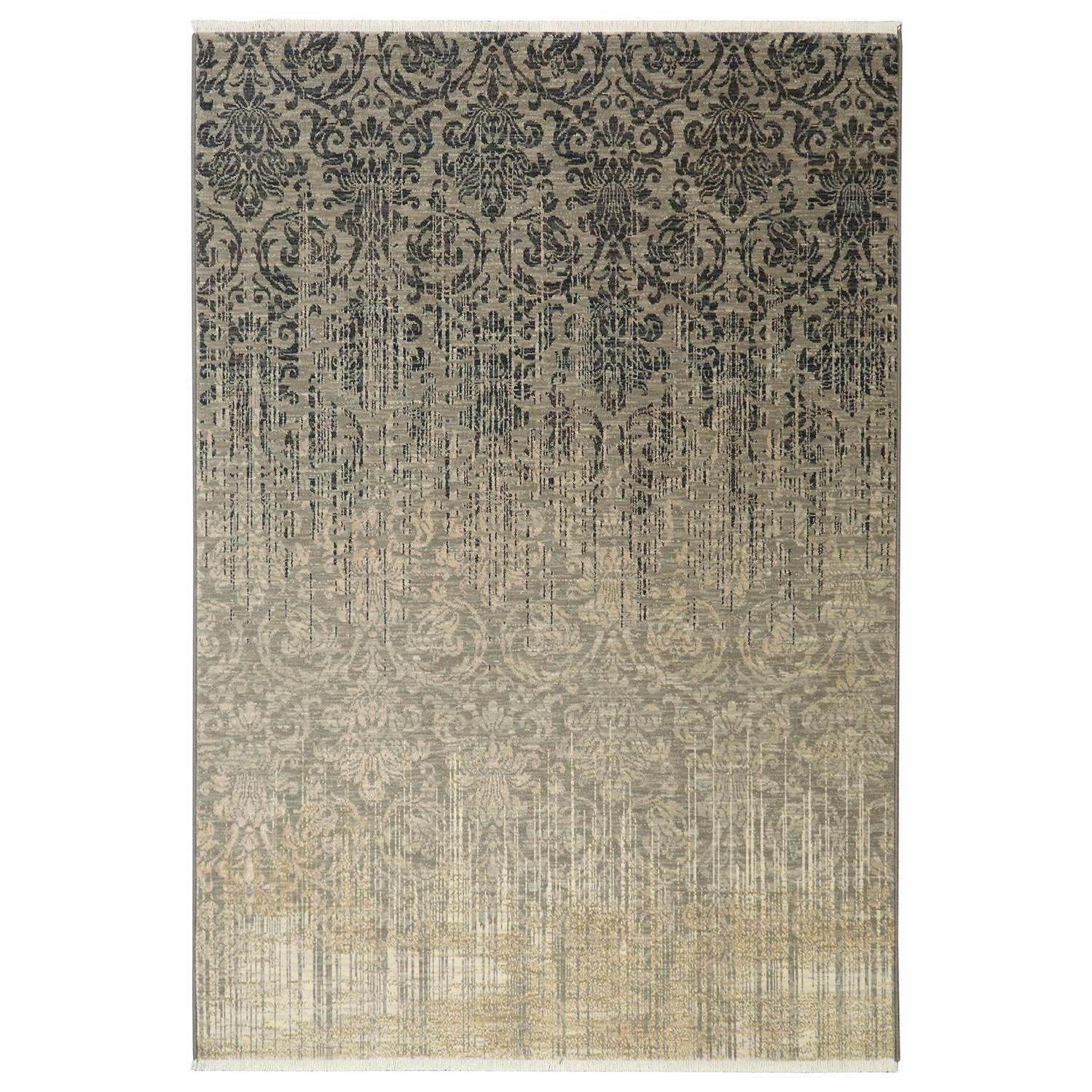 Titanium 3'6x5'6 Tiberio Gray Rug by Karastan Rugs at Darvin Furniture