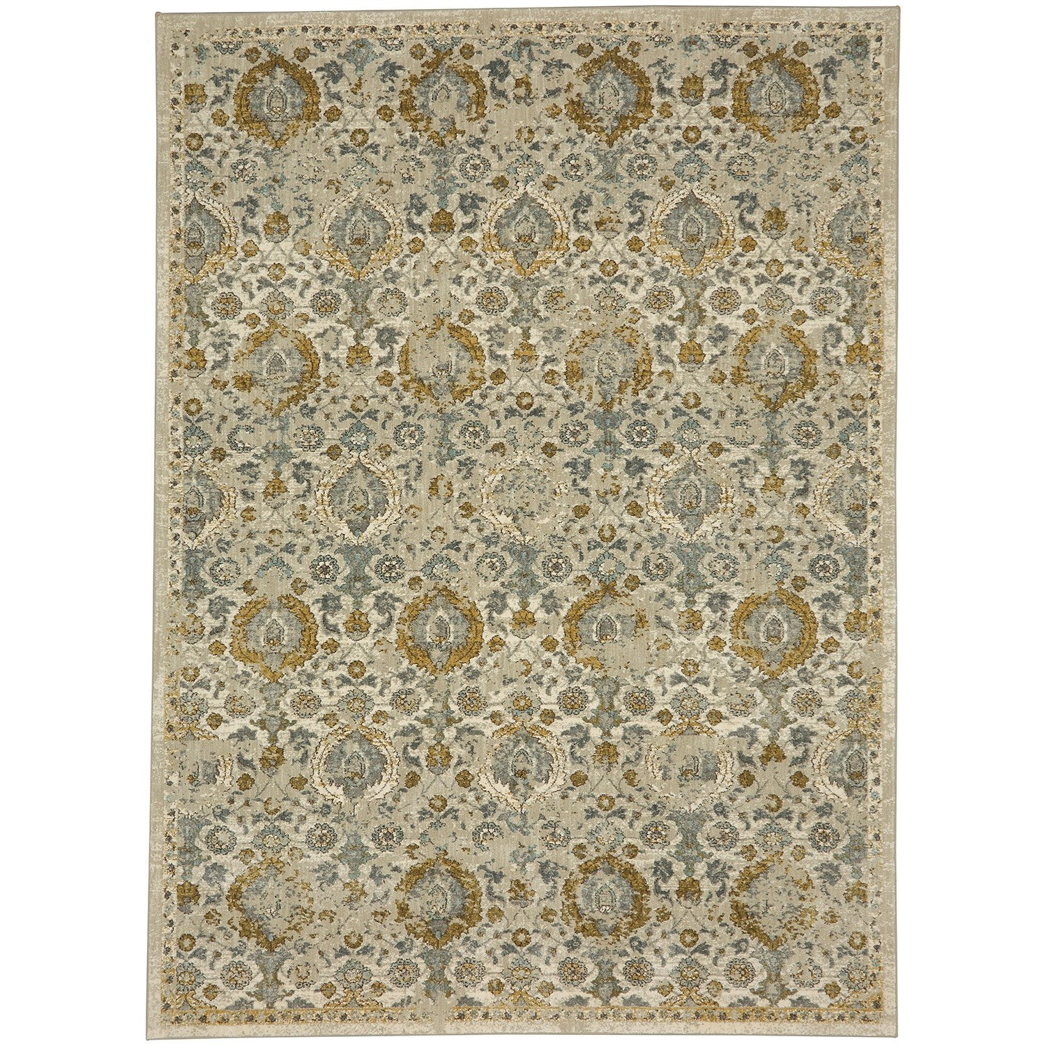 Touchstone 8'x11' Rectangle Ornamental Area Rug by Karastan Rugs at Darvin Furniture