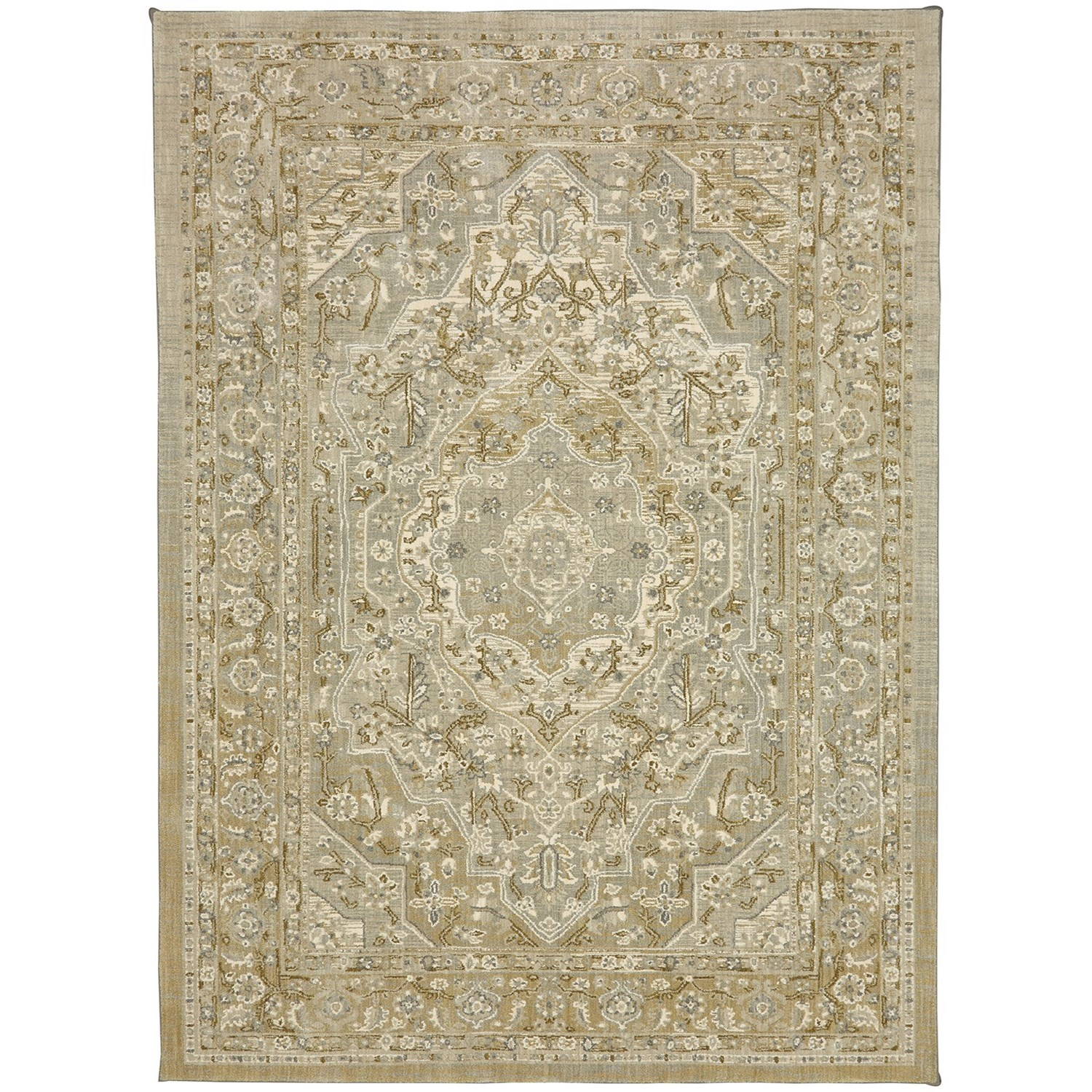 "Touchstone 5' 3""x7' 10"" Rectangle Ornamental Area Rug by Karastan Rugs at Darvin Furniture"
