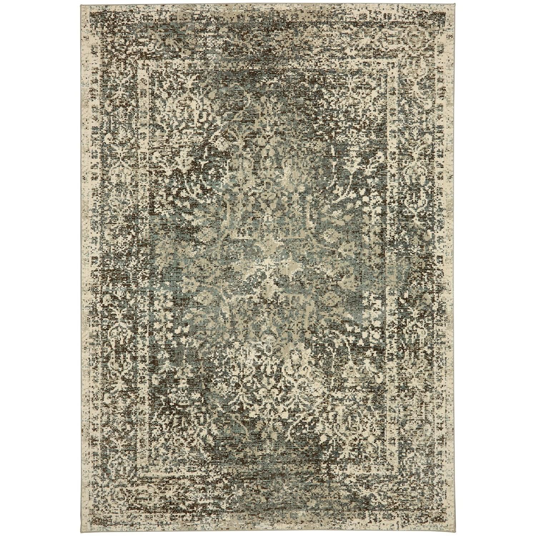 "Touchstone 3' 6""x5' 6"" Rectangle Ornamental Area Rug by Karastan Rugs at Alison Craig Home Furnishings"