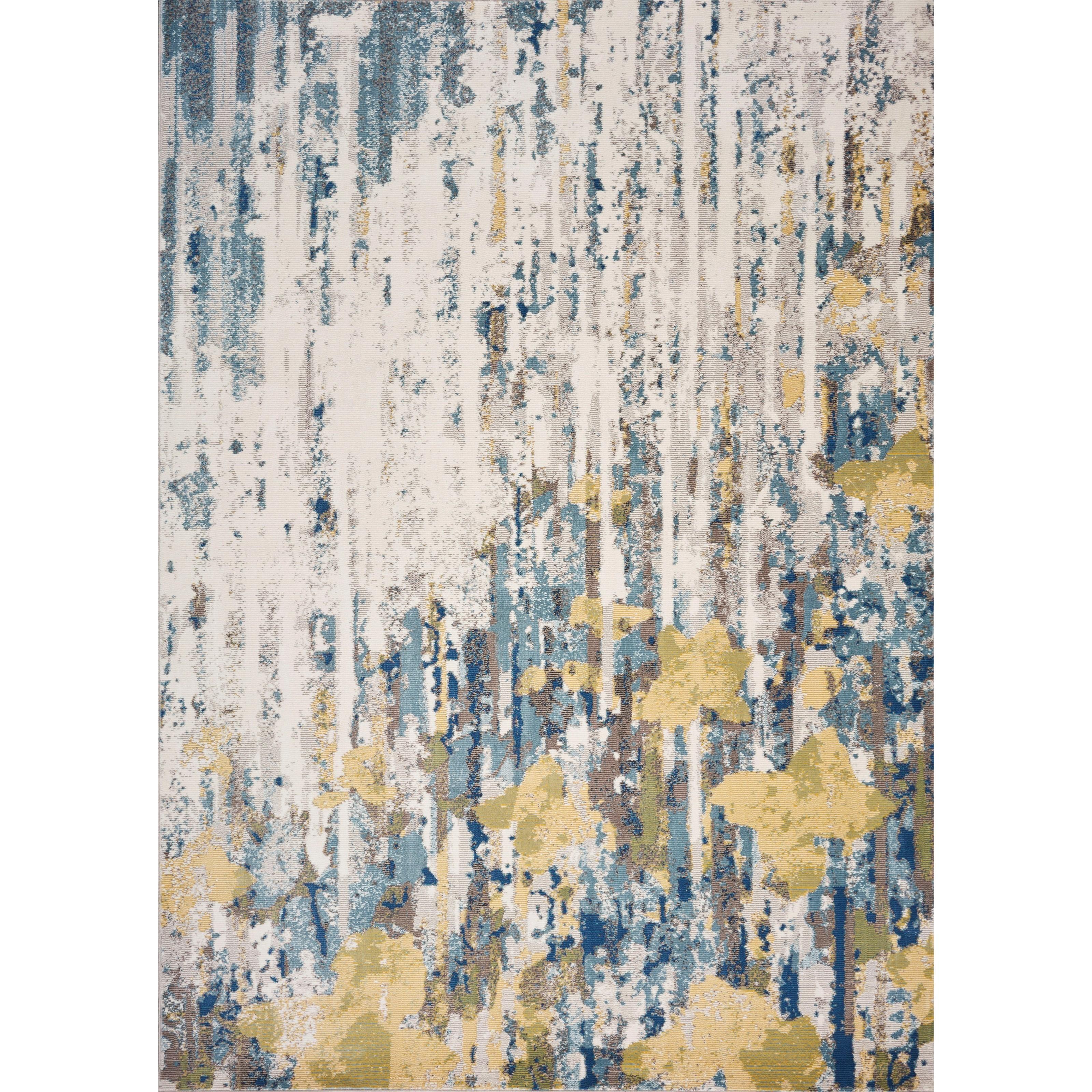 "Arte 7'3"" x 8'11"" Ivory Vista Rug by Kas at Wilson's Furniture"