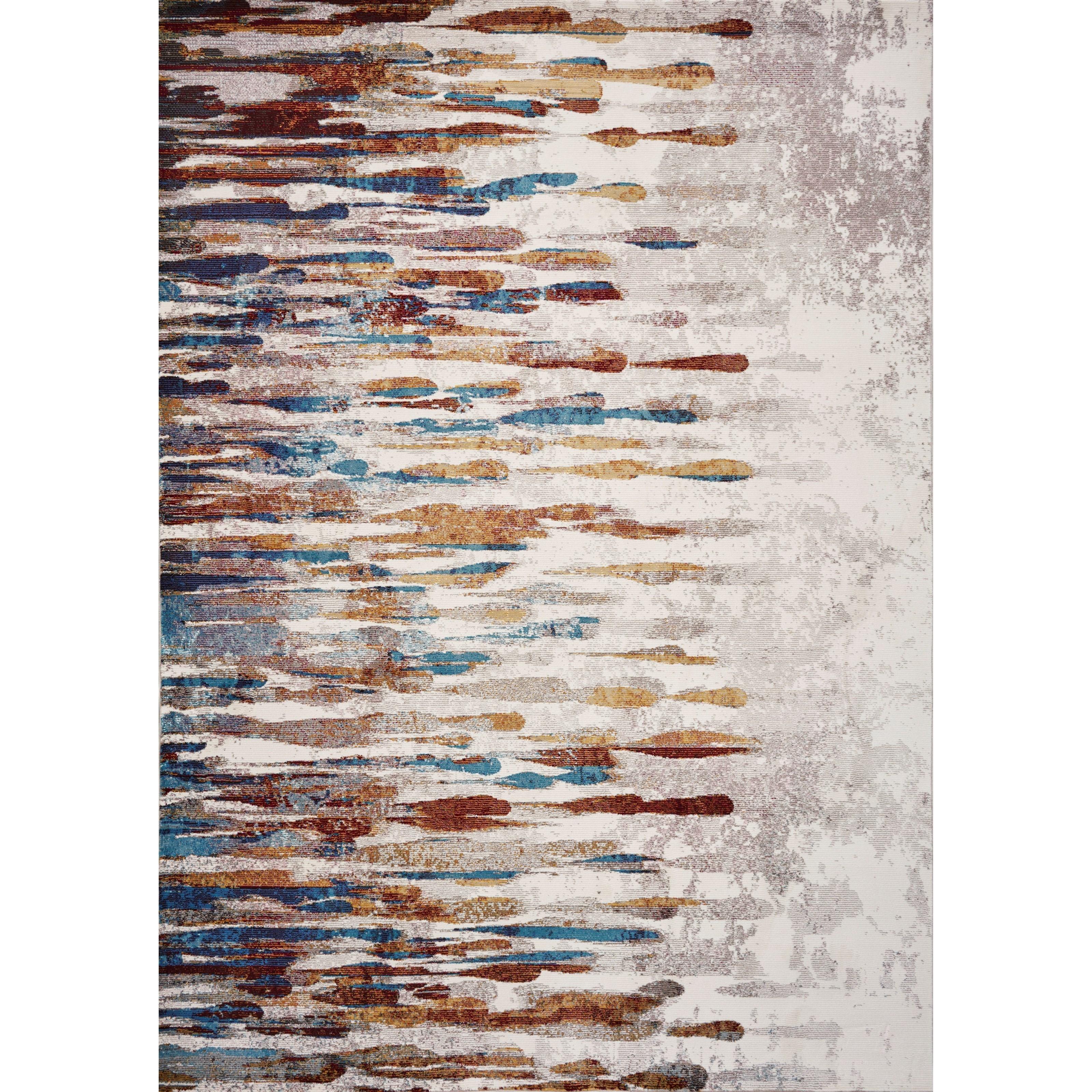 "Arte 7'3"" x 8'11"" Ivory Tribeca Rug by Kas at Zak's Home"