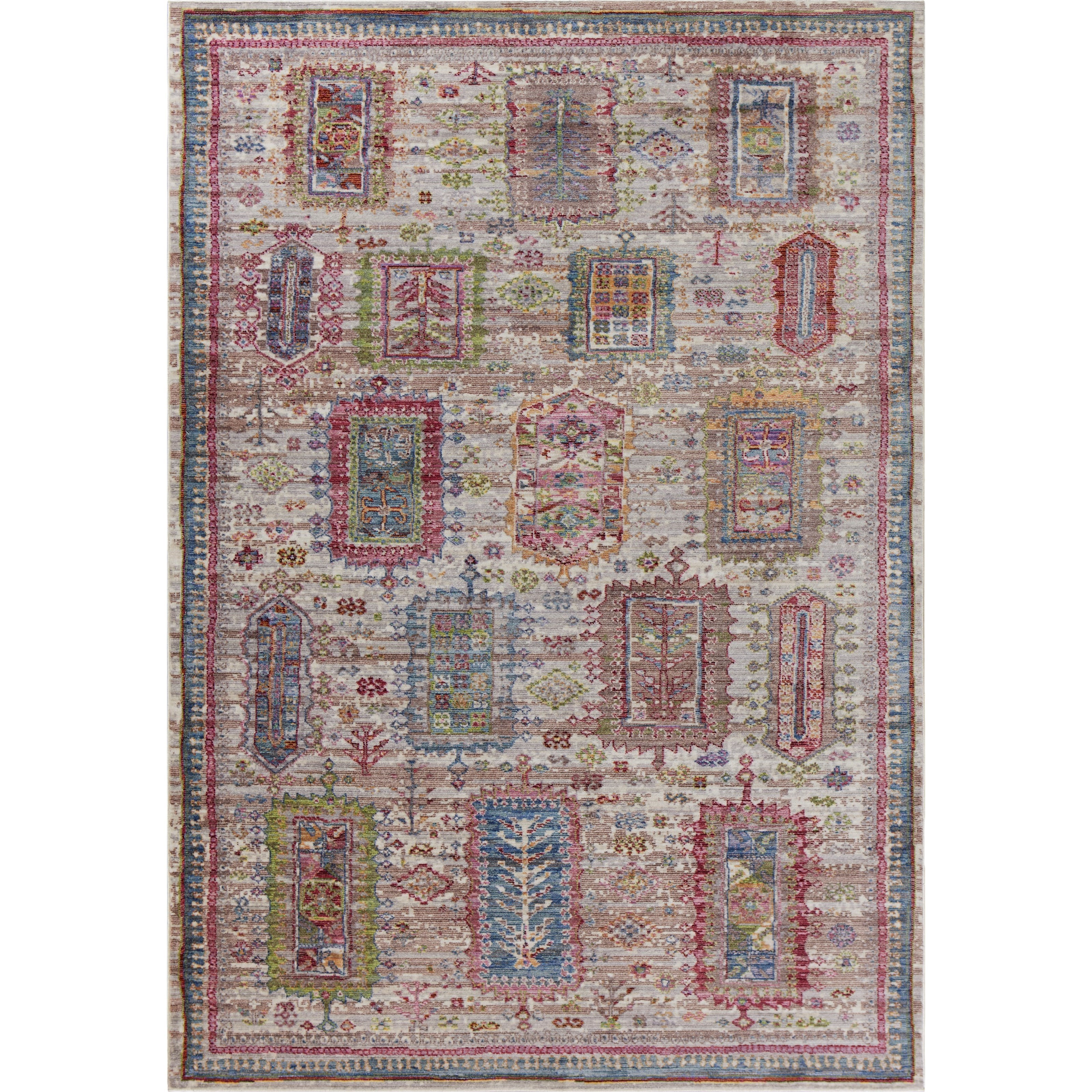 """Ashton 5'6"""" X 3'6"""" Area Rug by Kas at Zak's Home"""