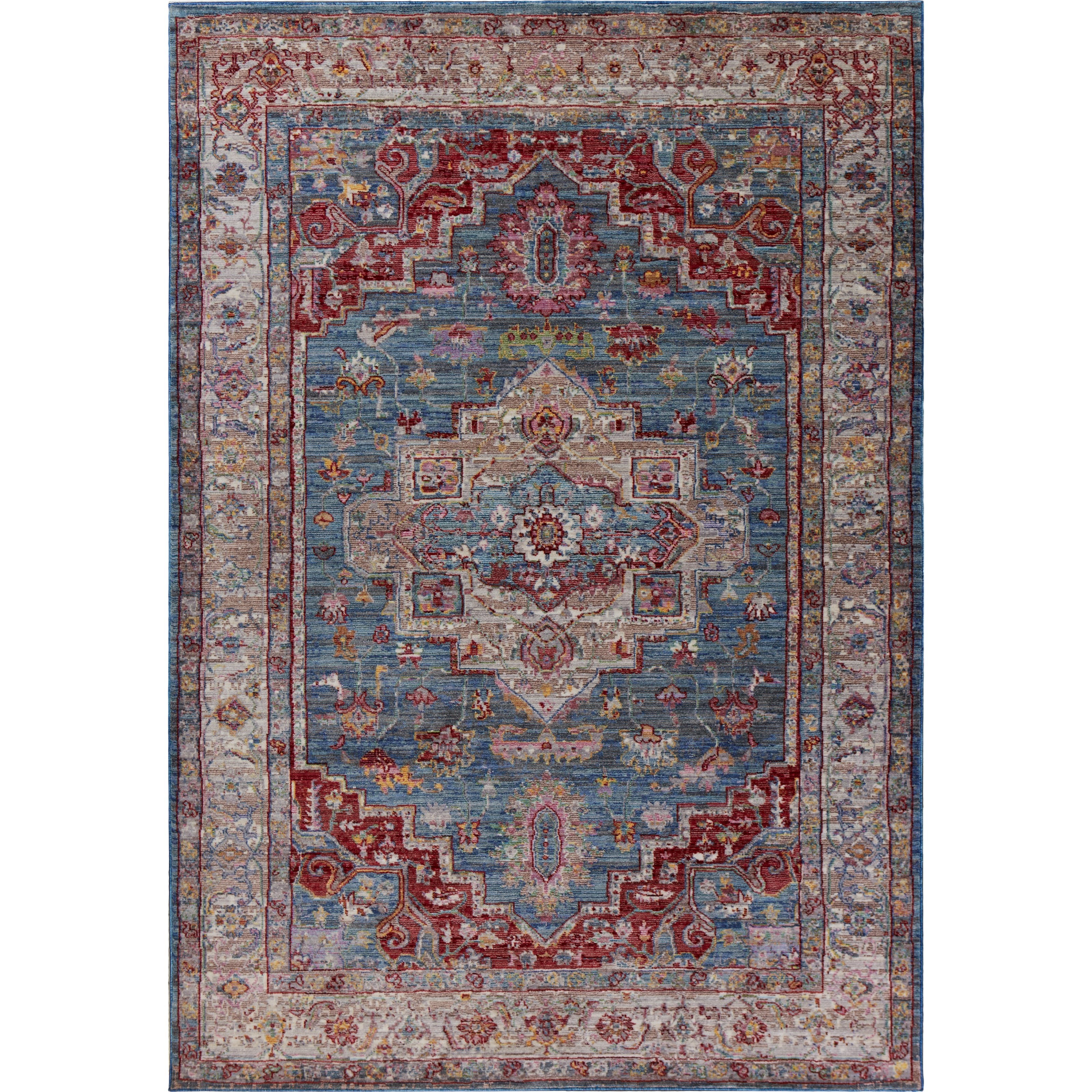 "Ashton 5'6"" X 3'6"" Area Rug by Kas at Zak's Home"