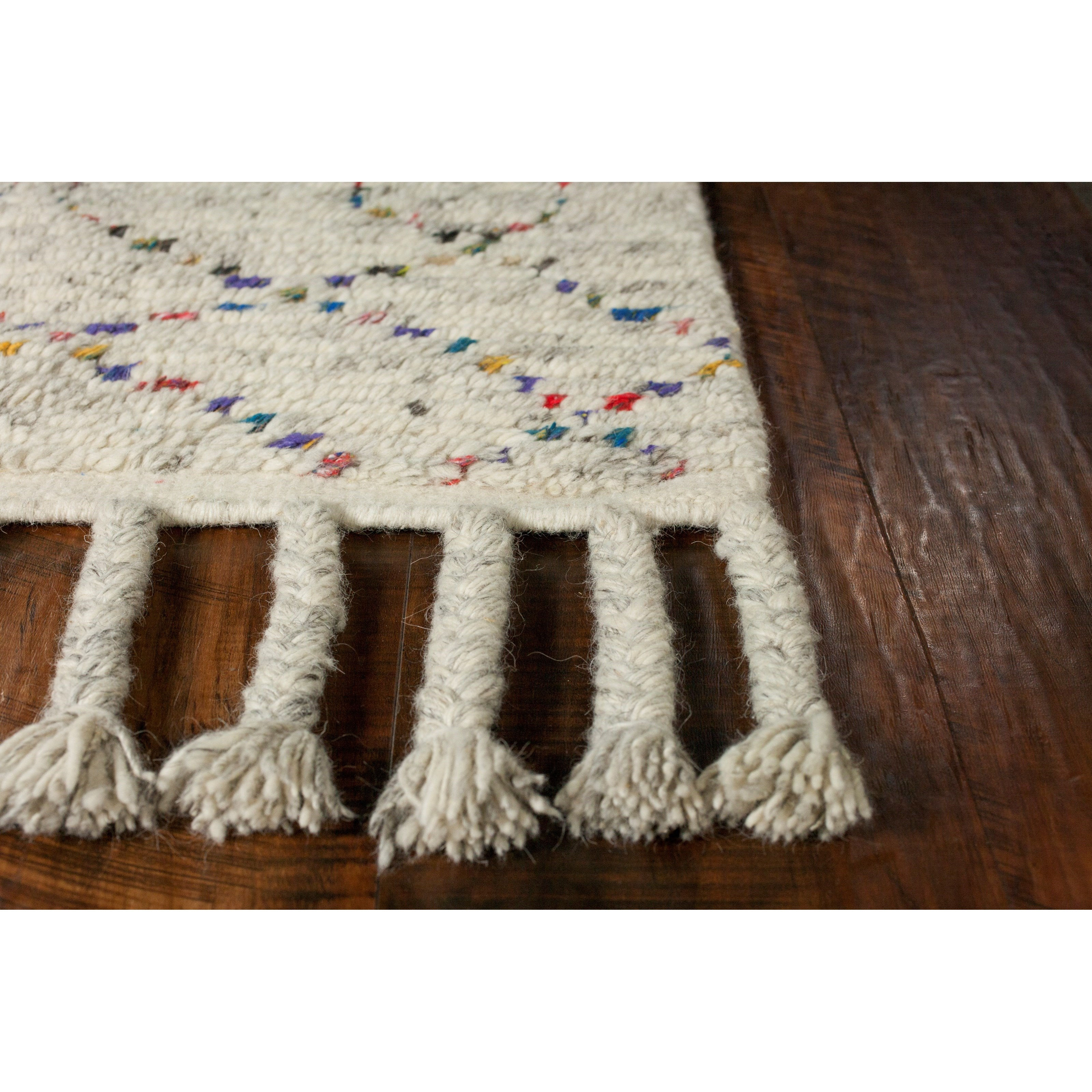 Austin 9' x 13' Natural Boho Rug by Kas at Wilson's Furniture
