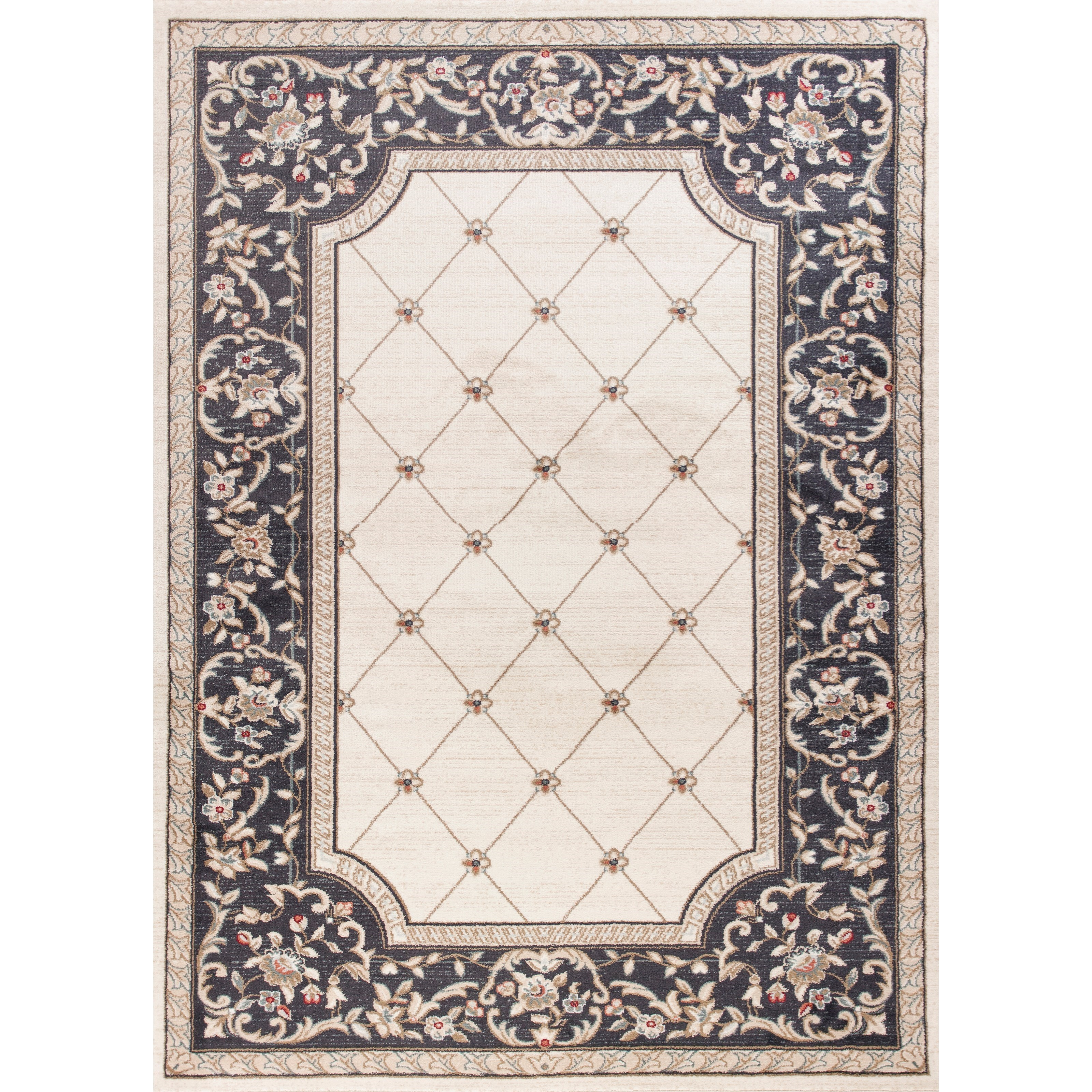 "Avalon 5'3"" X 3'3"" Area Rug by Kas at Zak's Home"