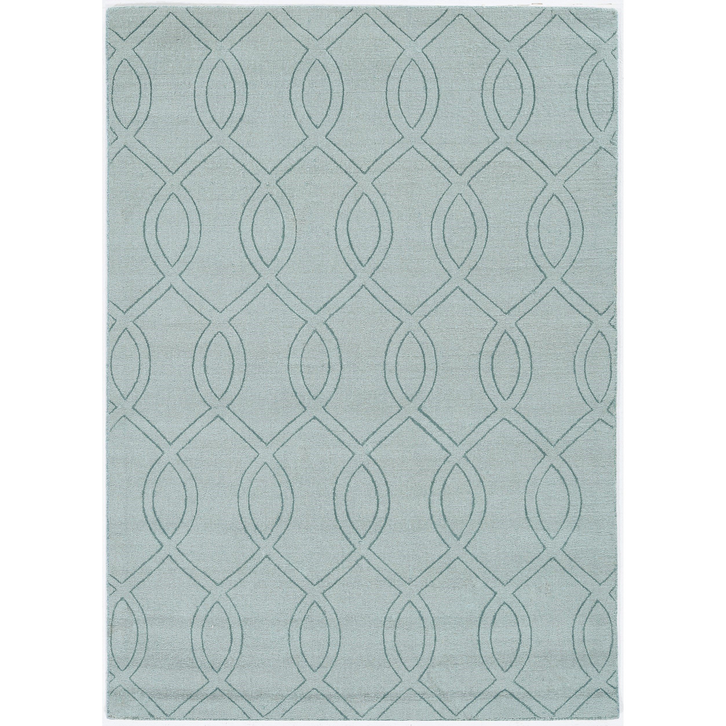 "Avery 2'3"" x 7'6"" Ocean Ellison Rug by Kas at Zak's Home"