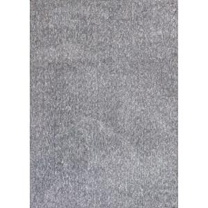5' X 7' Grey Heather Shag Area Rug