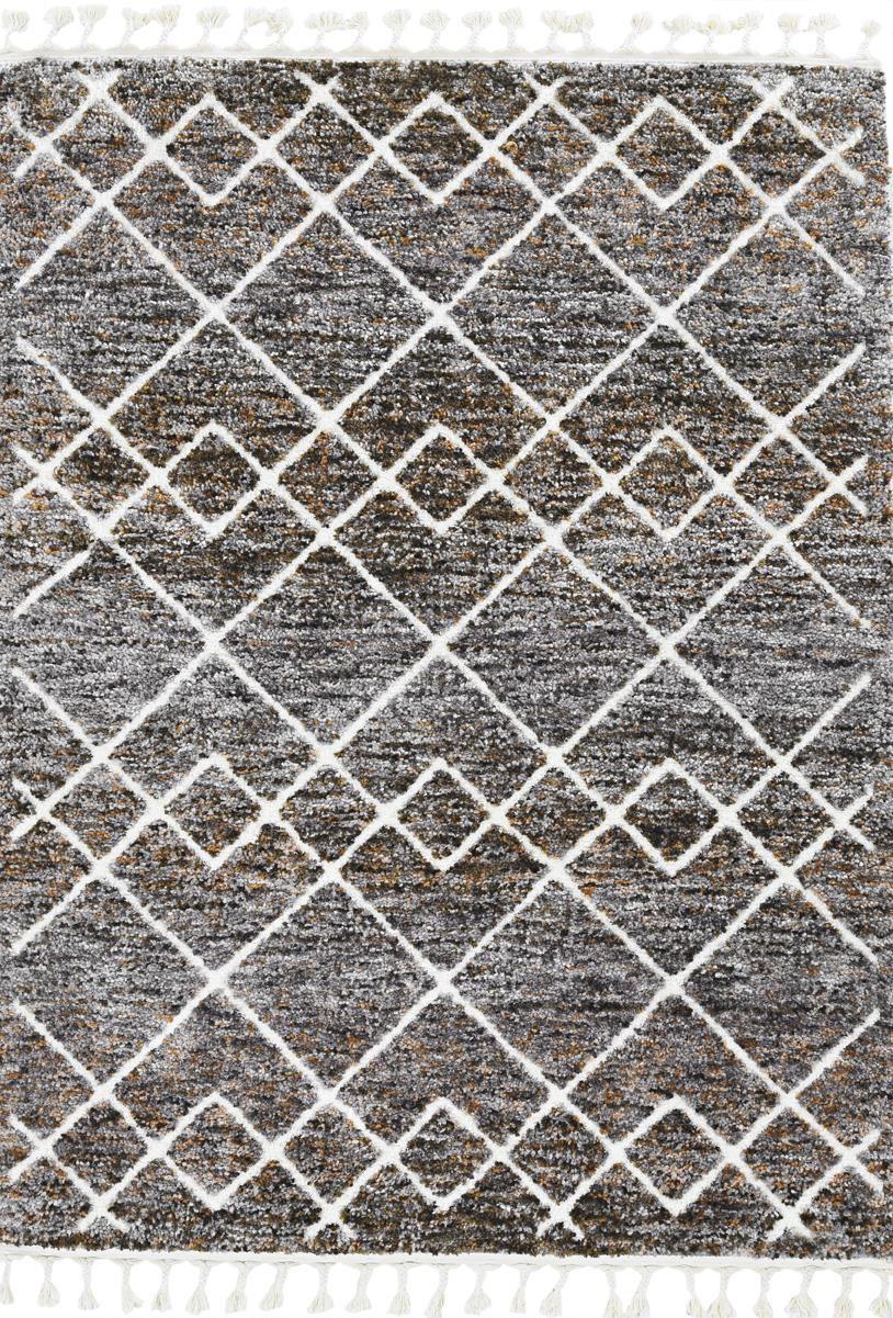 BUNGALOW MOCHA 5.3X7.7 by Kas at Walker's Furniture