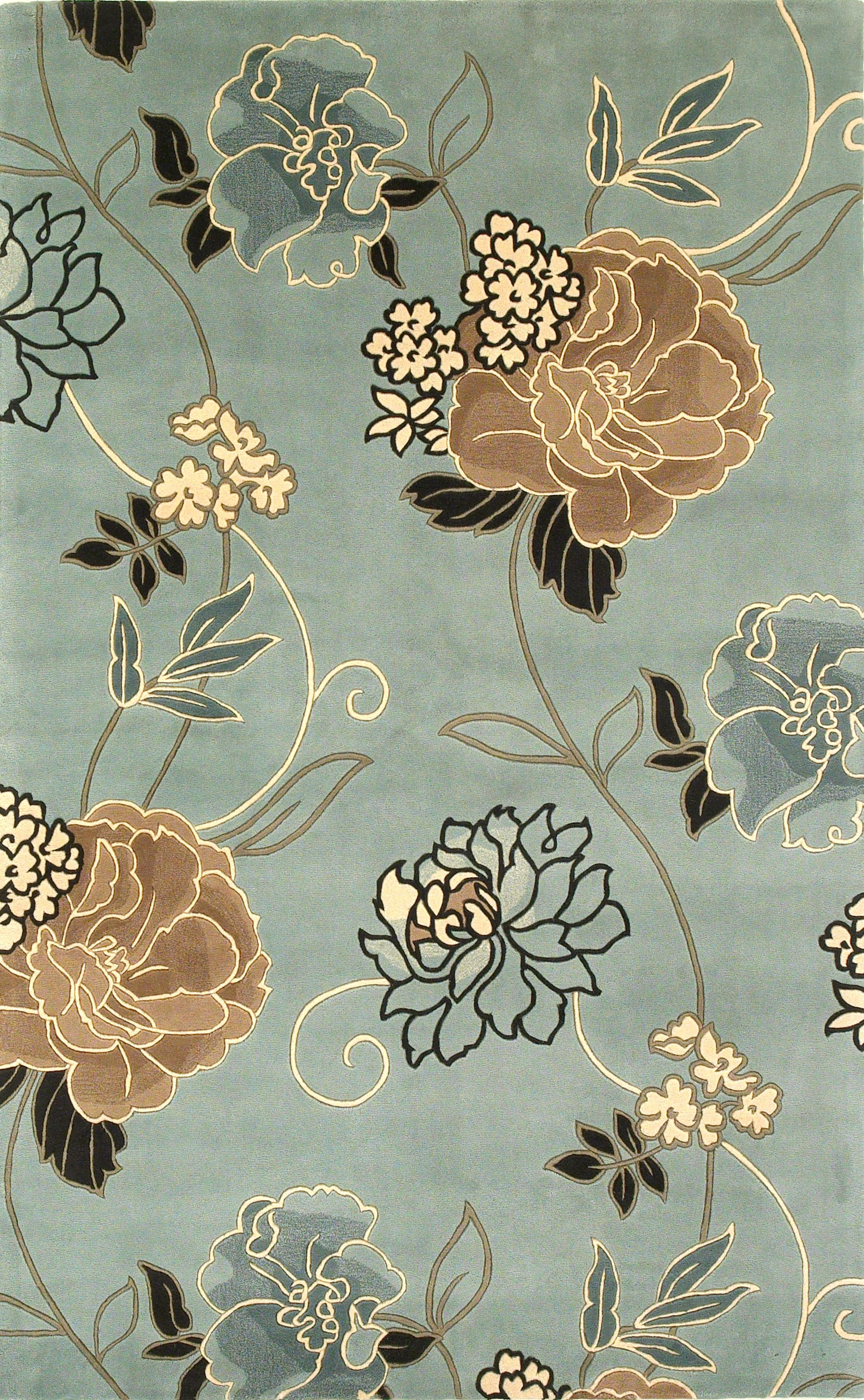 Catalina 5' x 8' Rug by Kas at Wilson's Furniture