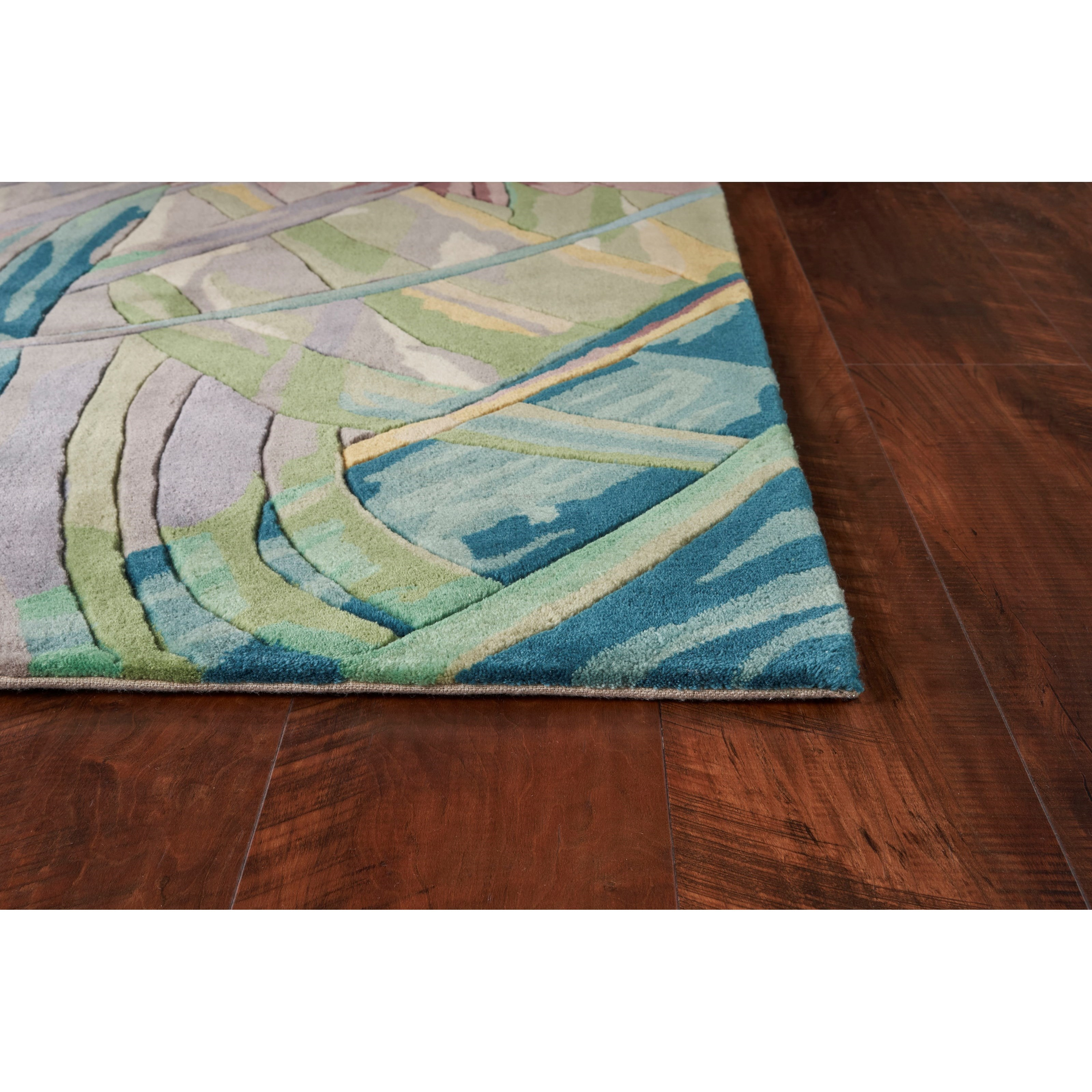 "Catalina 30"" x 50"" Ivory/Lilac Key West Rug by Kas at Zak's Home"