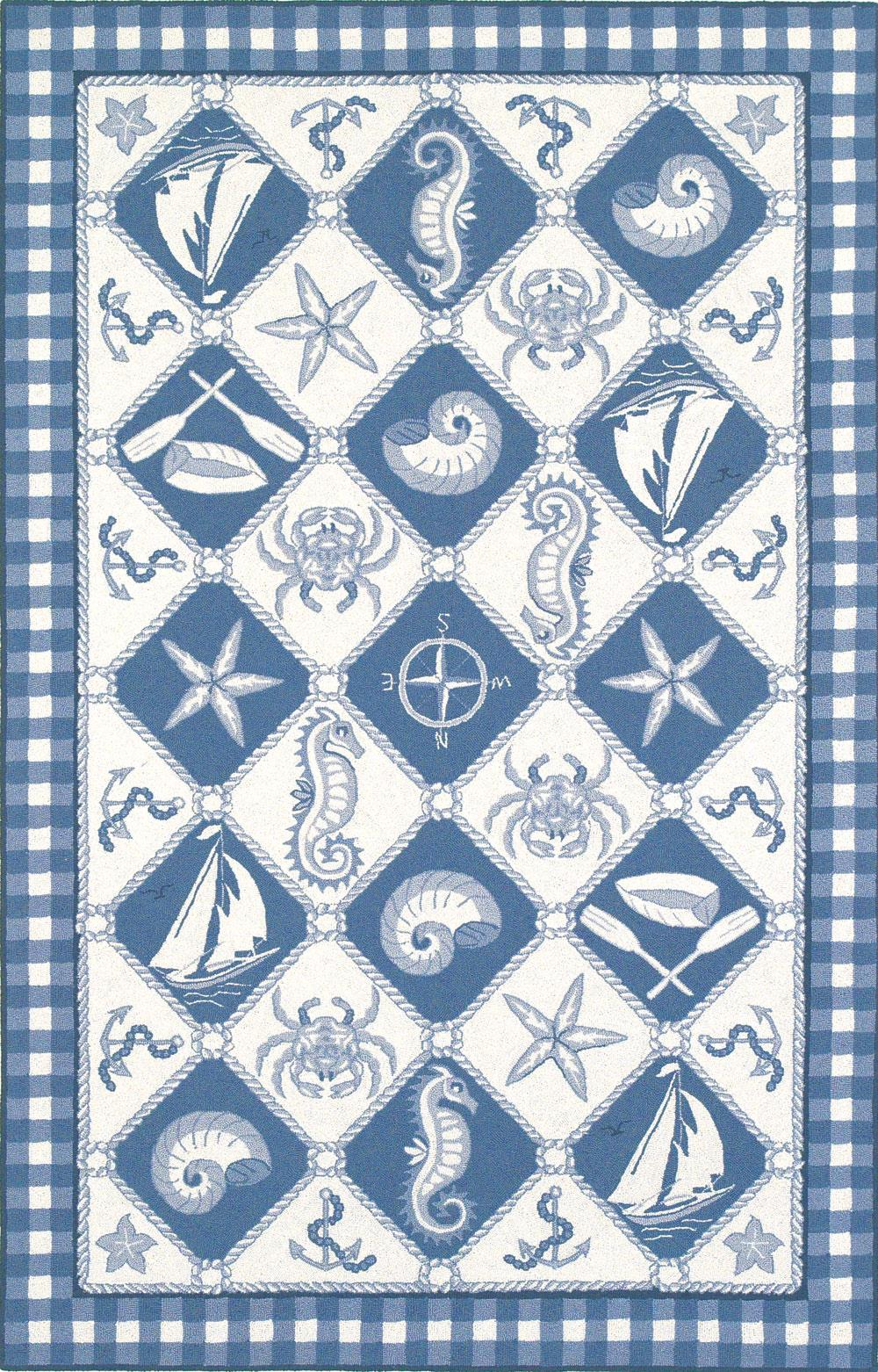 """Colonial 3'6"""" x 5'6"""" Rug by Kas at Zak's Home"""