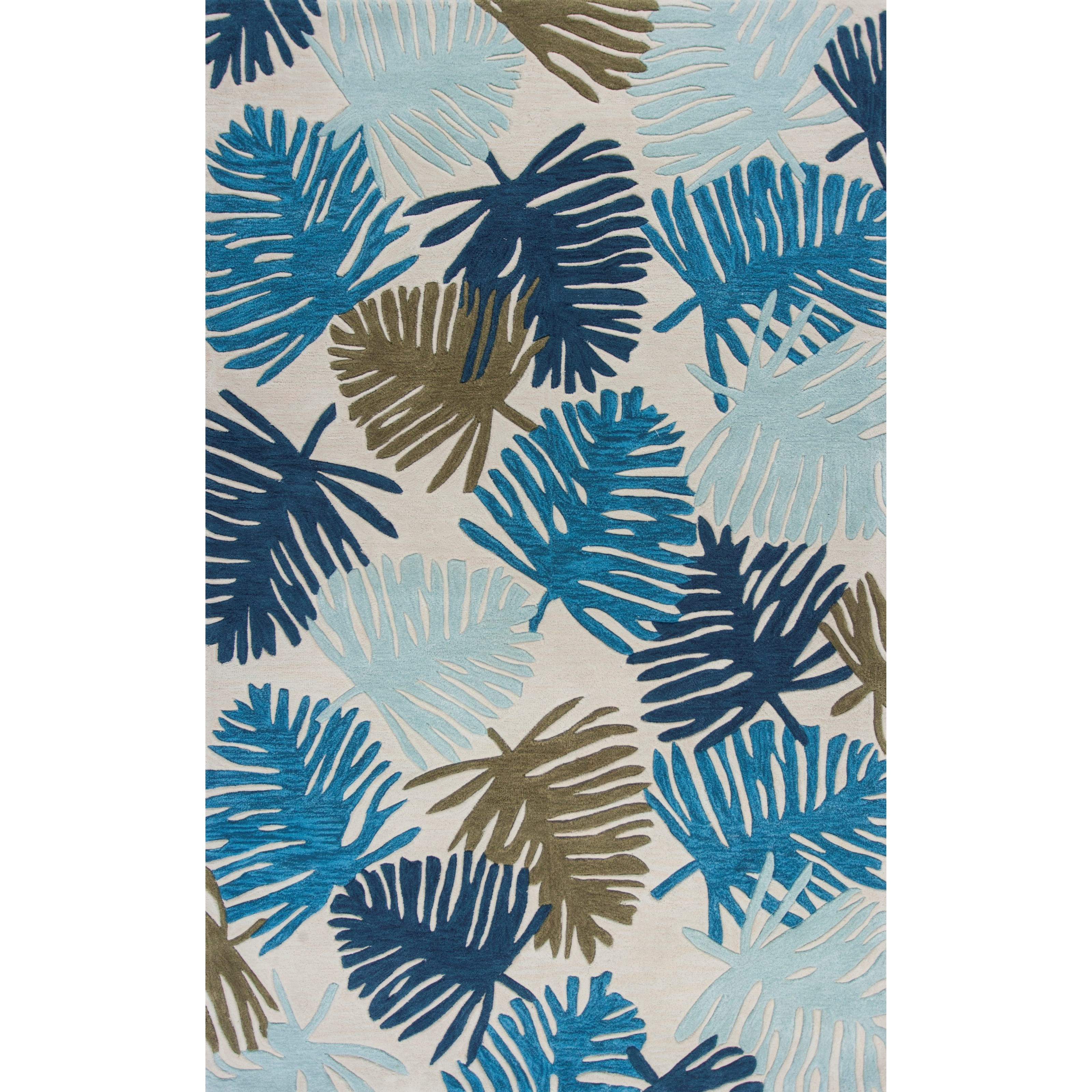 """Coral 5'3"""" X 3'3"""" Area Rug by Kas at Zak's Home"""