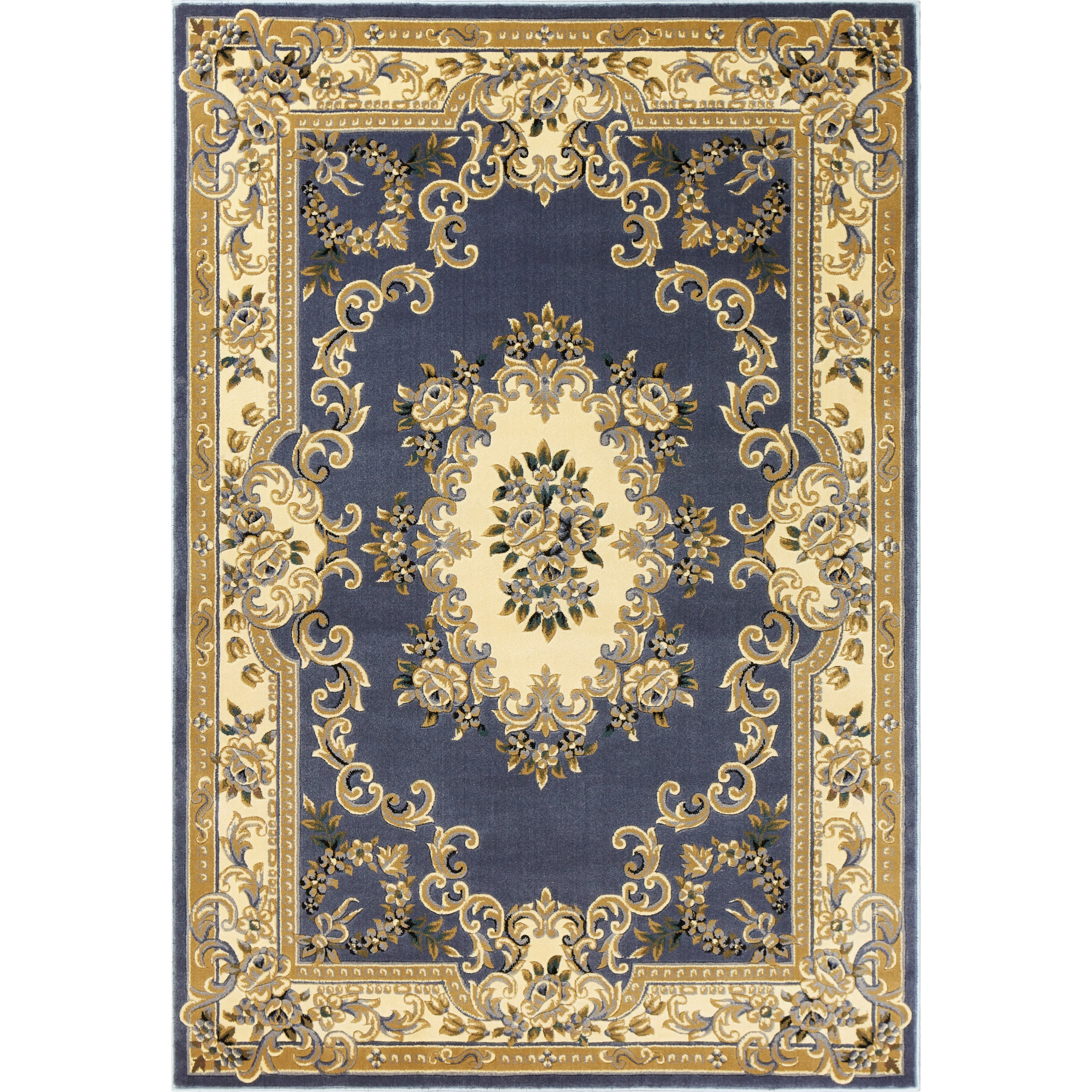 """Corinthian 10'10"""" X 7'7"""" Area Rug by Kas at Zak's Home"""