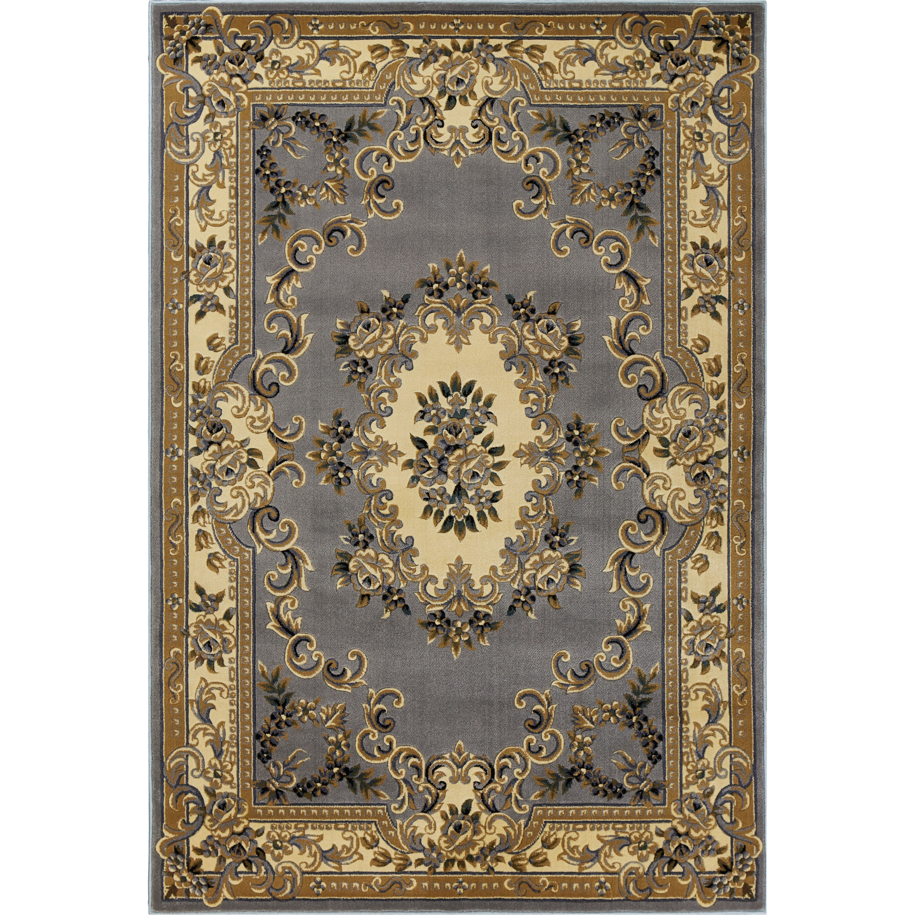 """Corinthian 4'11"""" X 3'3"""" Area Rug by Kas at Zak's Home"""