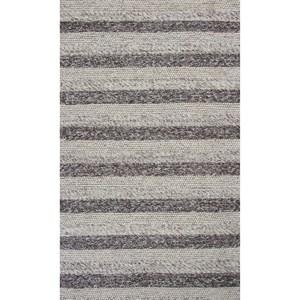 5' X 7' Grey/White Landscape Area Rug