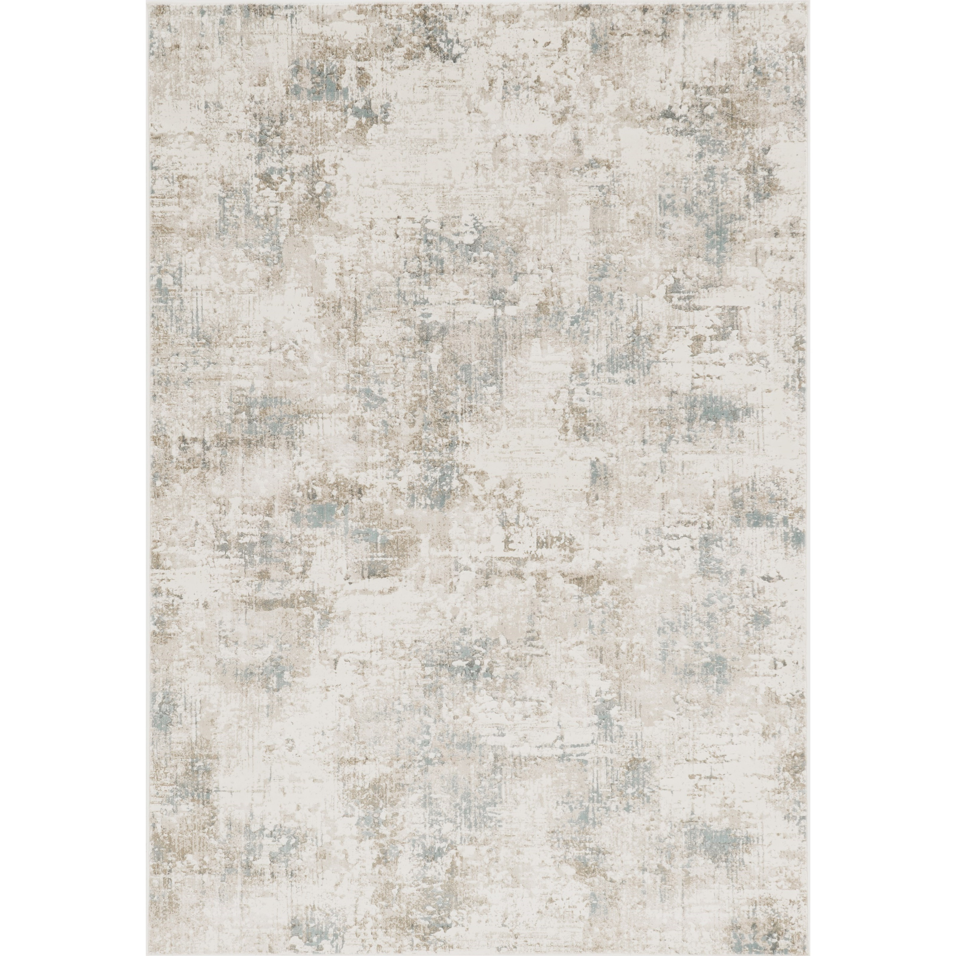 """Crete 2'2"""" x 6'11"""" Runner Ivory Serenity Rug by Kas at Zak's Home"""