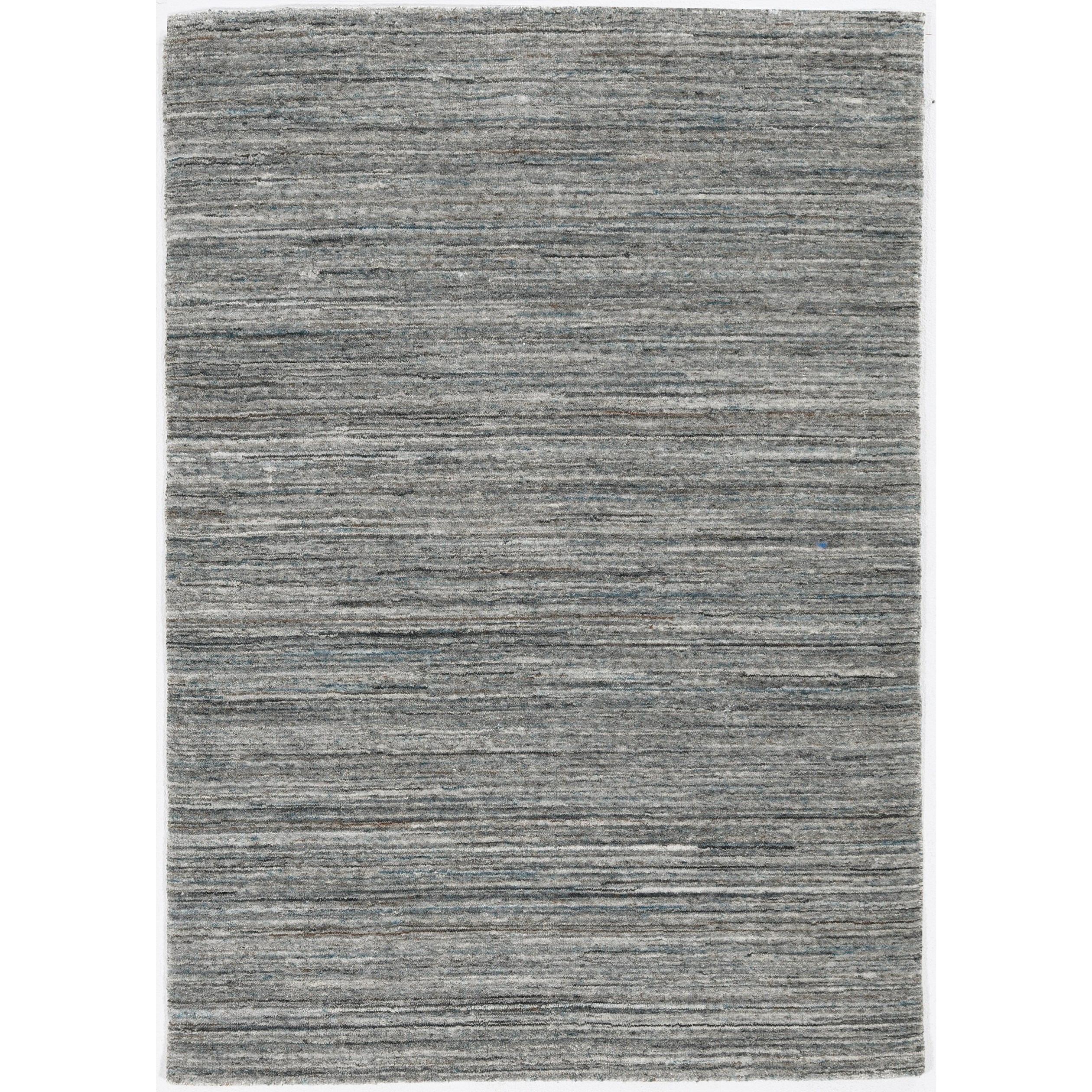 "Dune 2'3"" x 8' Runner Grey Landscape Rug by Kas at Zak's Home"