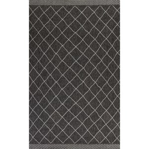 "7'7"" X 5' Charcoal Rustico Area Rug"